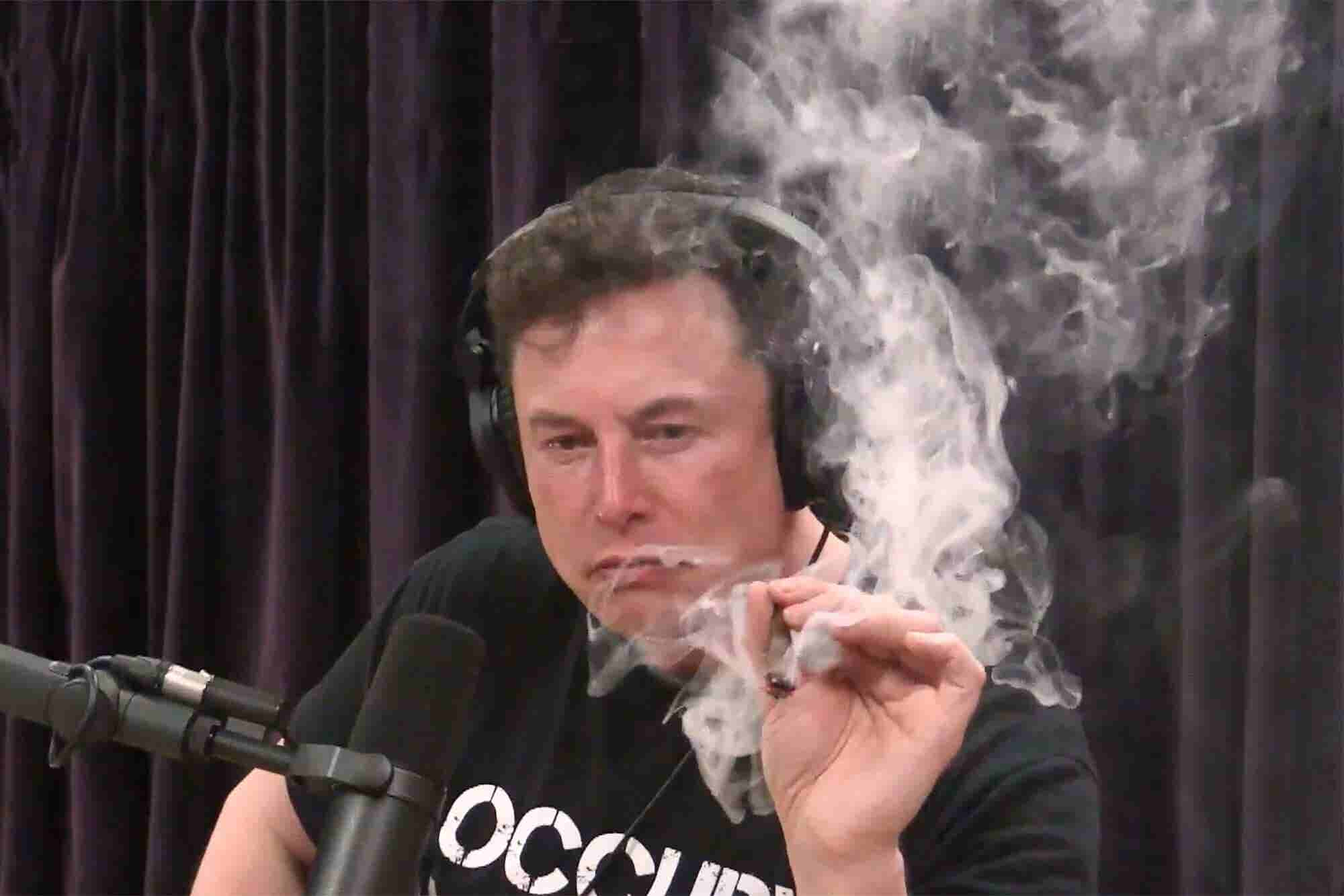 Elon Musk Takes Tesla One Toke Over the Line