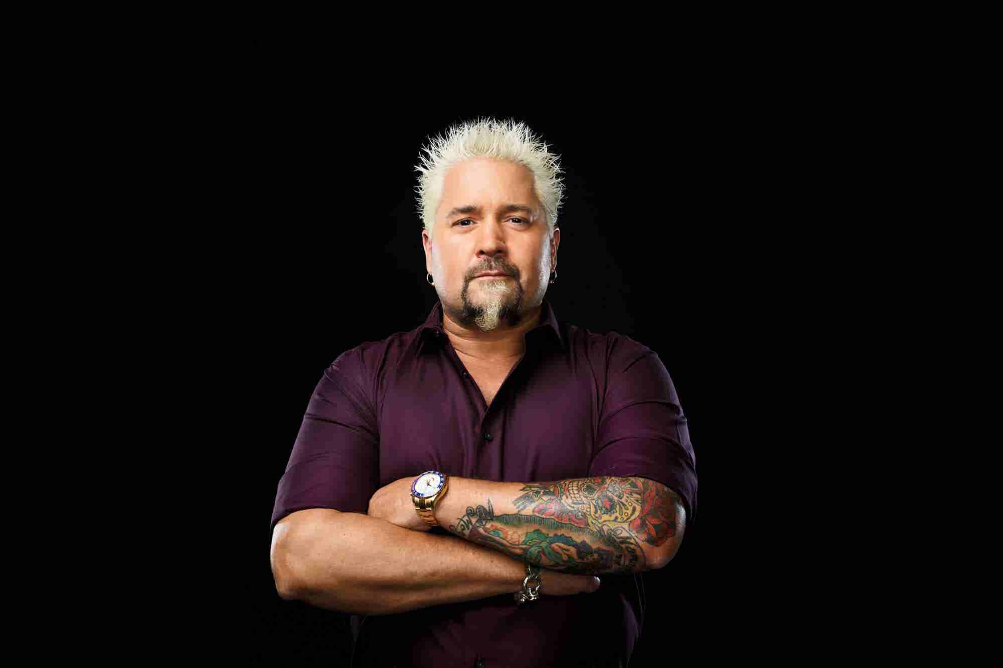 Guy Fieri Is Insanely Busy. Here's How He Gets It All Done.
