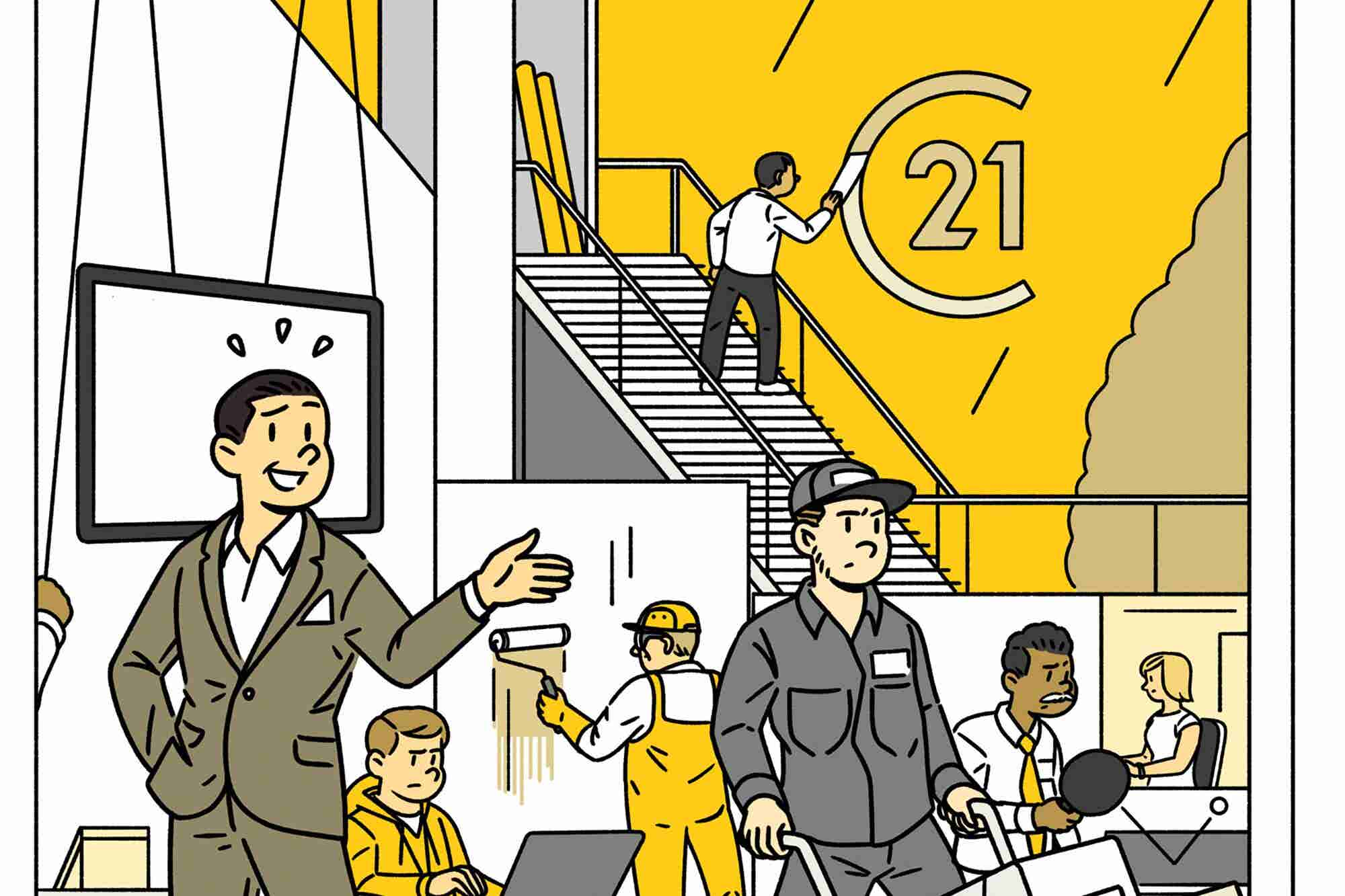 Old Company. Troubled Industry. Inside the Effort to Reboot Century 21...
