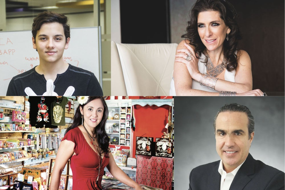 20 emprendedores mexicanos que demuestran que sí se puede