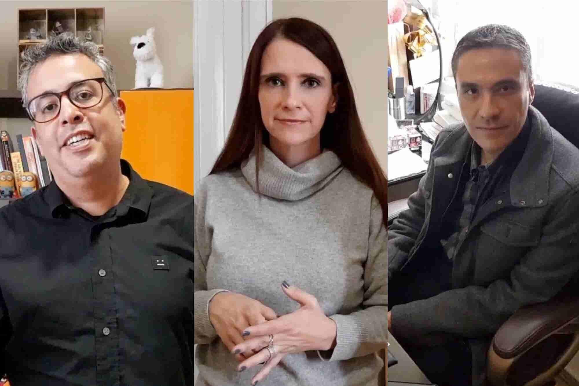 Los 3 amigos que iniciaron un negocio sin dinero y ahora dan servicio a Google