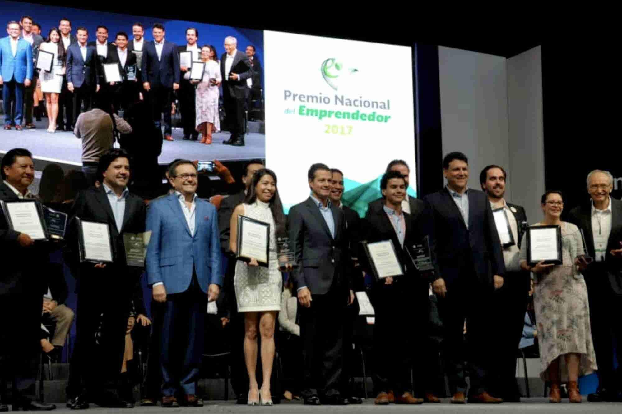 Conoce a los ganadores del Premio Nacional Emprendedor 2018