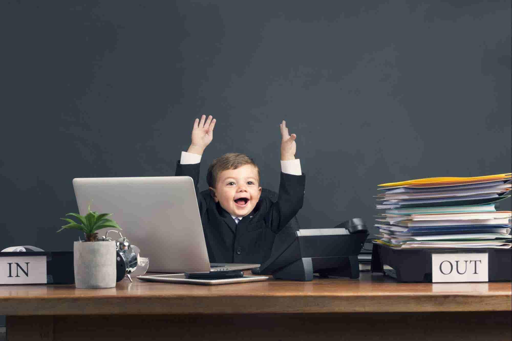 Este orador motivational de 10 años comparte cómo divertirte en tu negocio (y por qué deberías hacerlo)