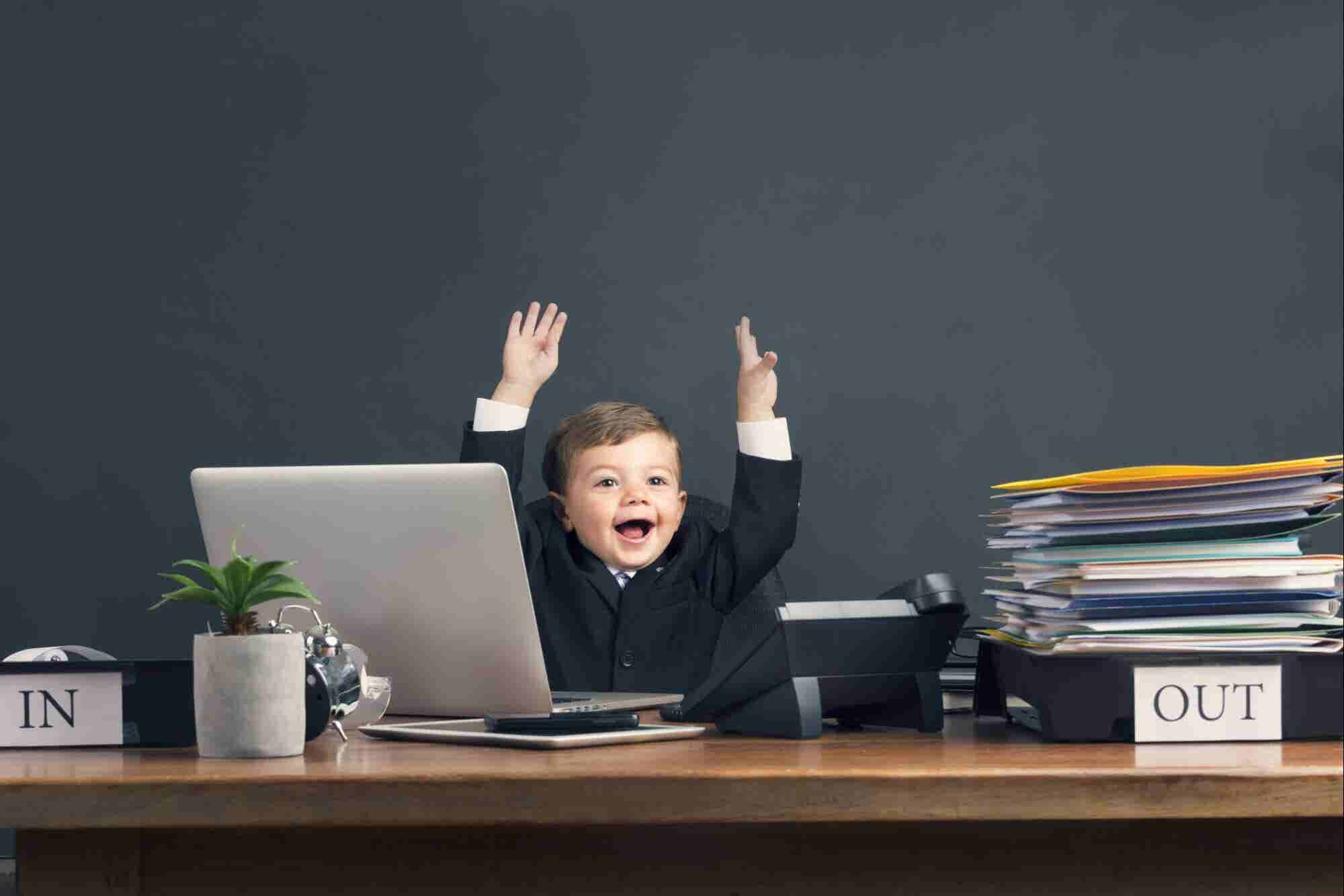 Este orador motivational de 10 años comparte cómo divertirte en tu neg...