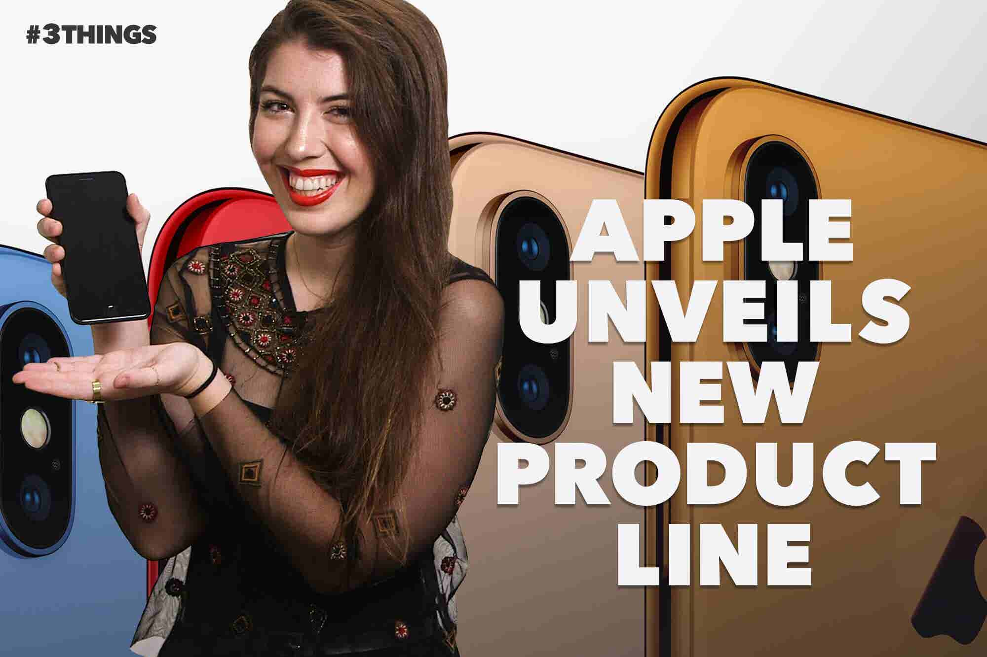 Apple Unveils New Product Line. 3 Things to Know Today.