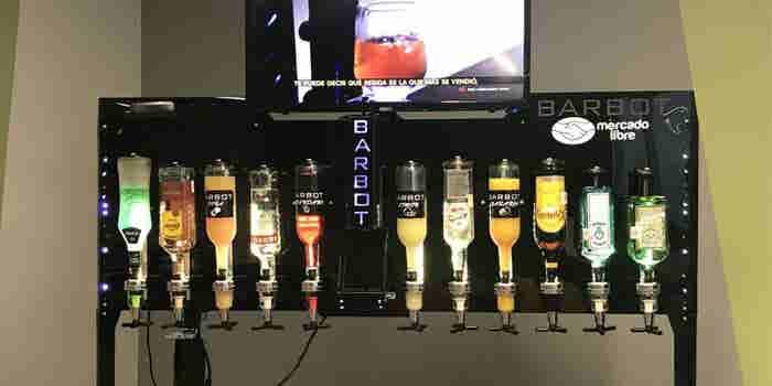Este es el bar robótico mexicano que triunfó en Shark Tank MX