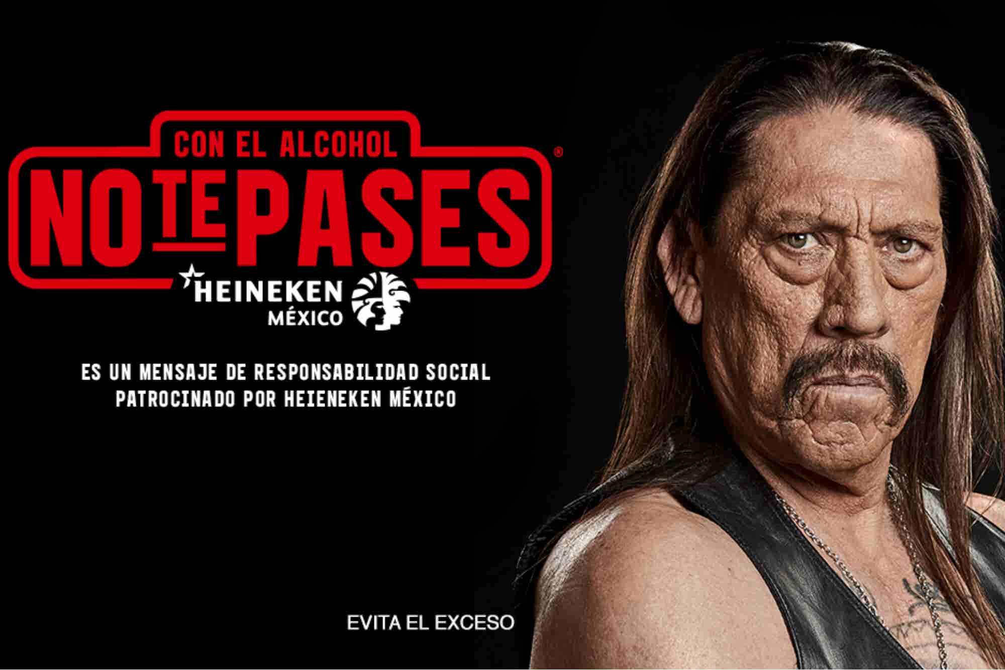 Heineken presenta su nueva campaña junto a Danny Trejo
