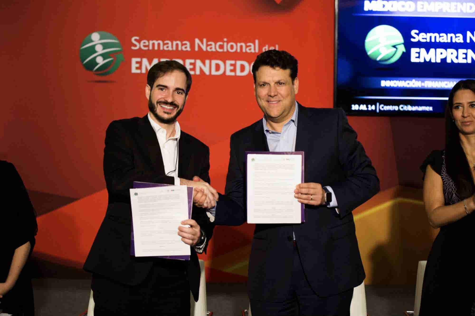 México y Brasil firman memorándum para impulsar emprendimiento durante la Semana del Emprendedor