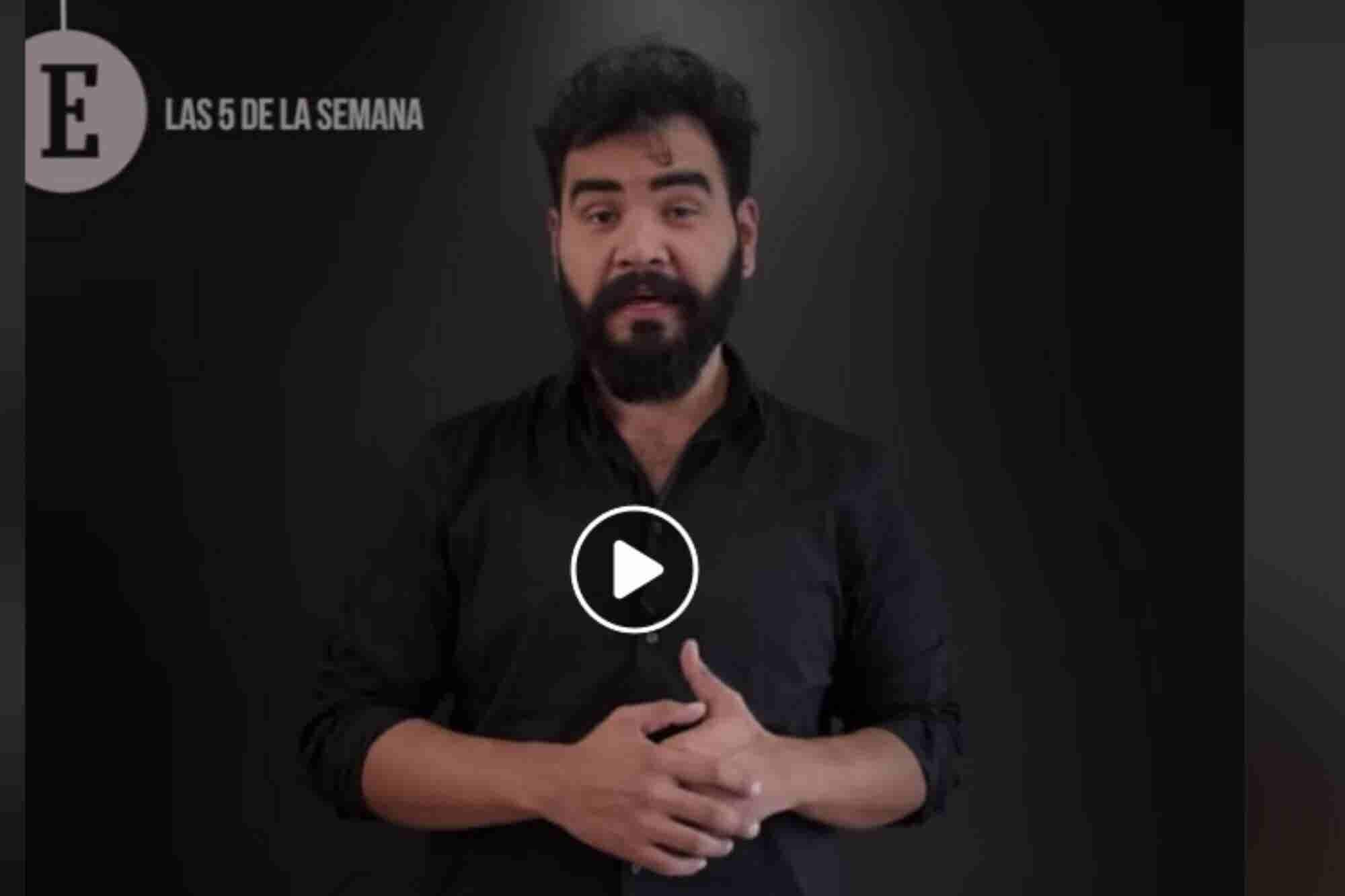 Video: ¡Las 5 noticias más importantes de la semana!