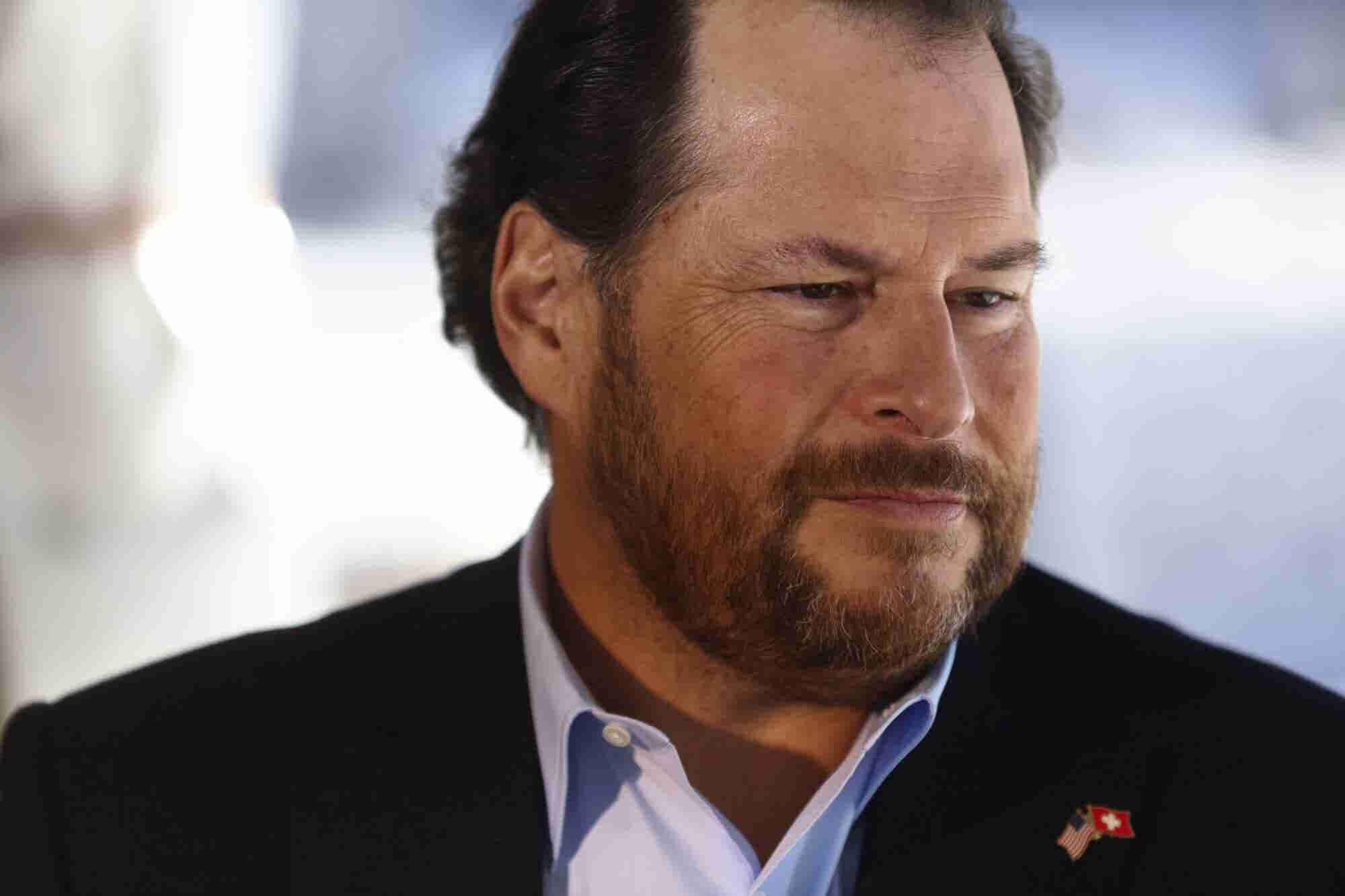 Marc Benioff Reached Millionaire Status by Age 25 -- and 9 Other Things to Know About the Co-Founder of Salesforce