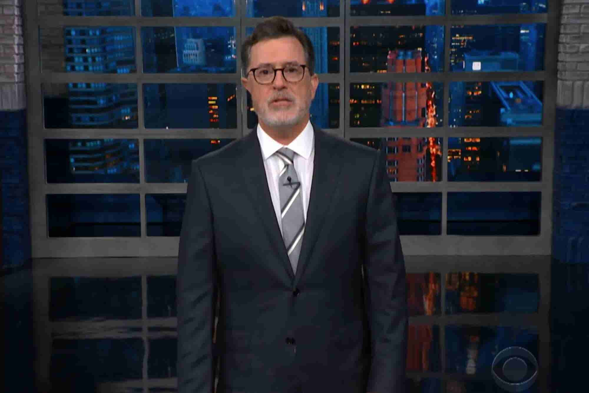 Colbert's Marijuana-Infused Monologue Is a Must Watch