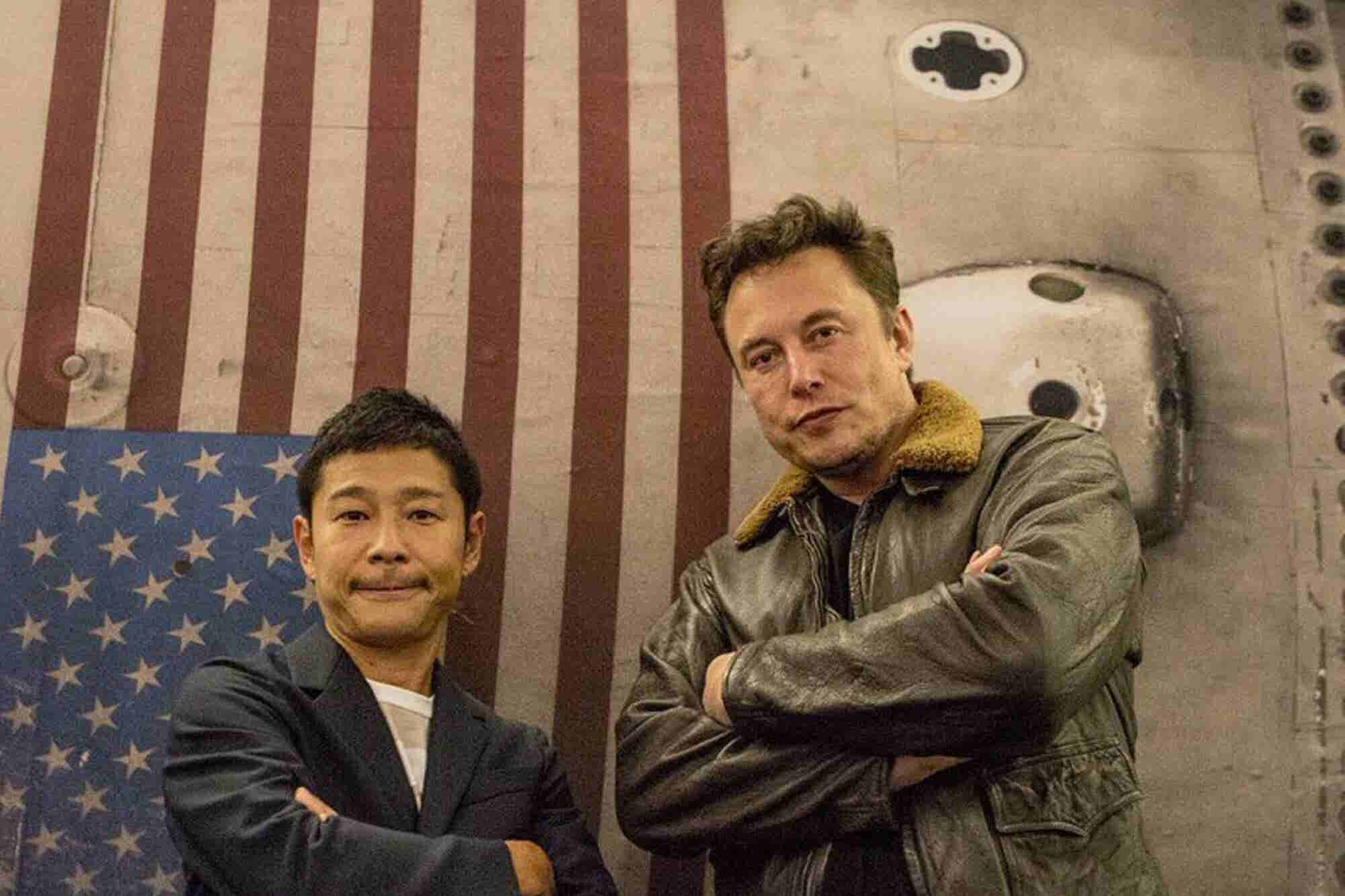 This Japanese Billionaire is SpaceX's First Moon Traveller