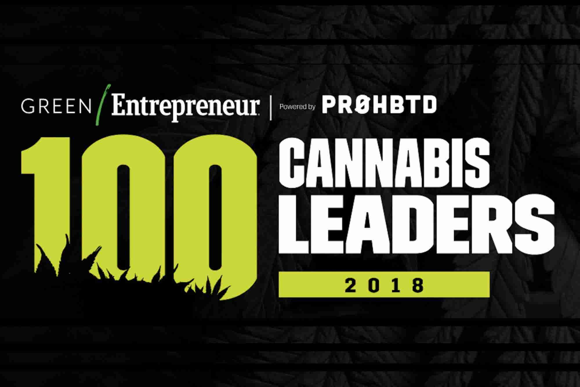 100 Cannabis Leaders of 2018