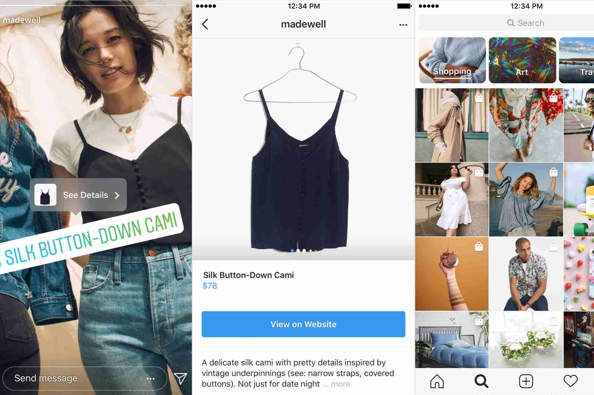 Everything You Need to Know About Instagram's New Shopping Features