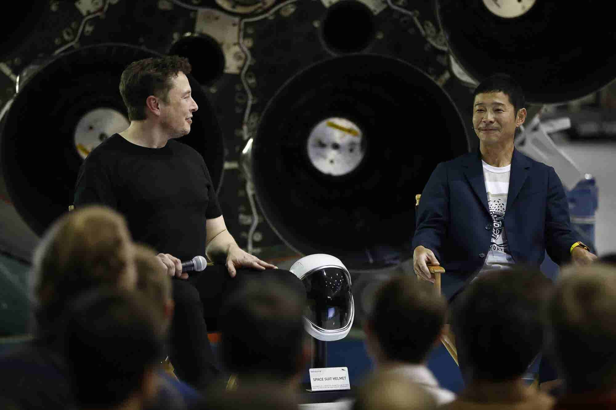 What You Need to Know About the Japanese Billionaire Going to Space With SpaceX