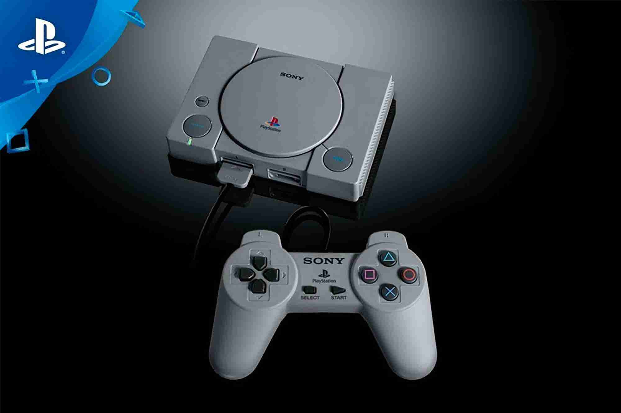 Sony Is Getting in on the Retro Gaming Craze With the PlayStation Classic