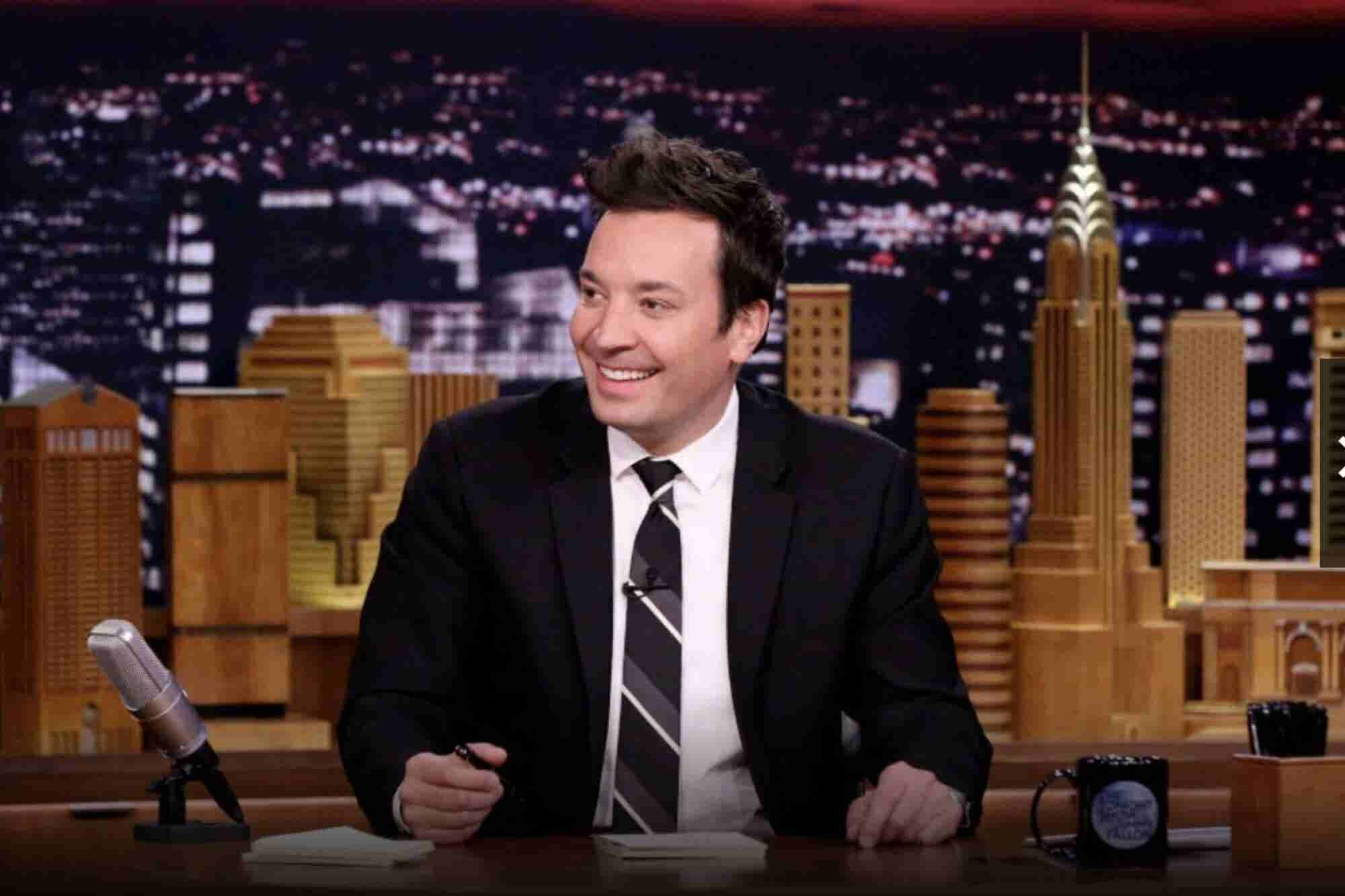 8 frases de Jimmy Fallon para motivarte y hacerte reír