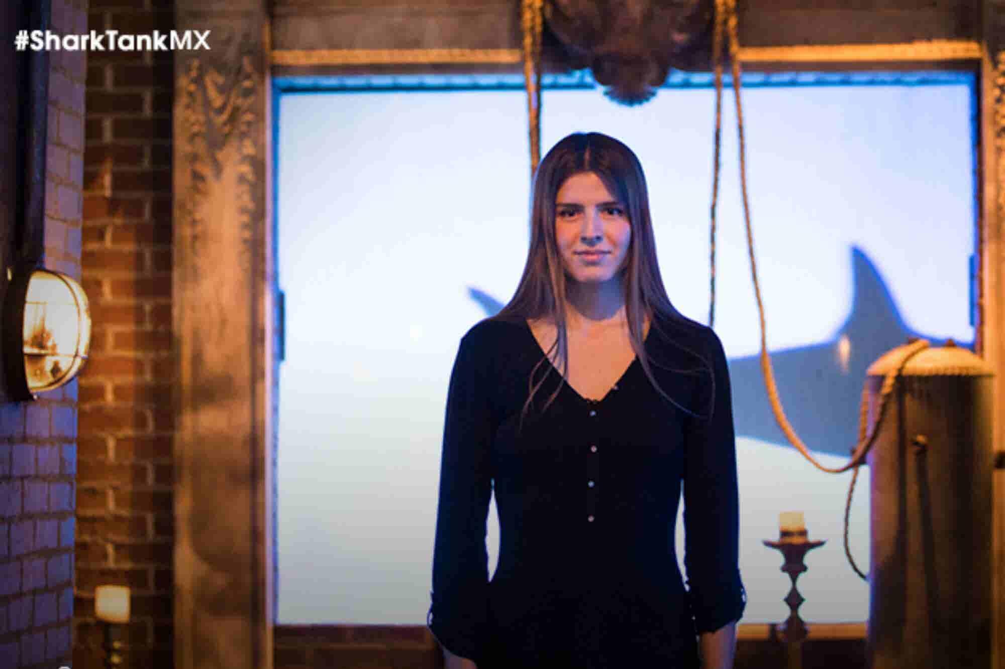 La veinteañera que consiguió inversión millonaria de todos los tiburones de Shark Tank México