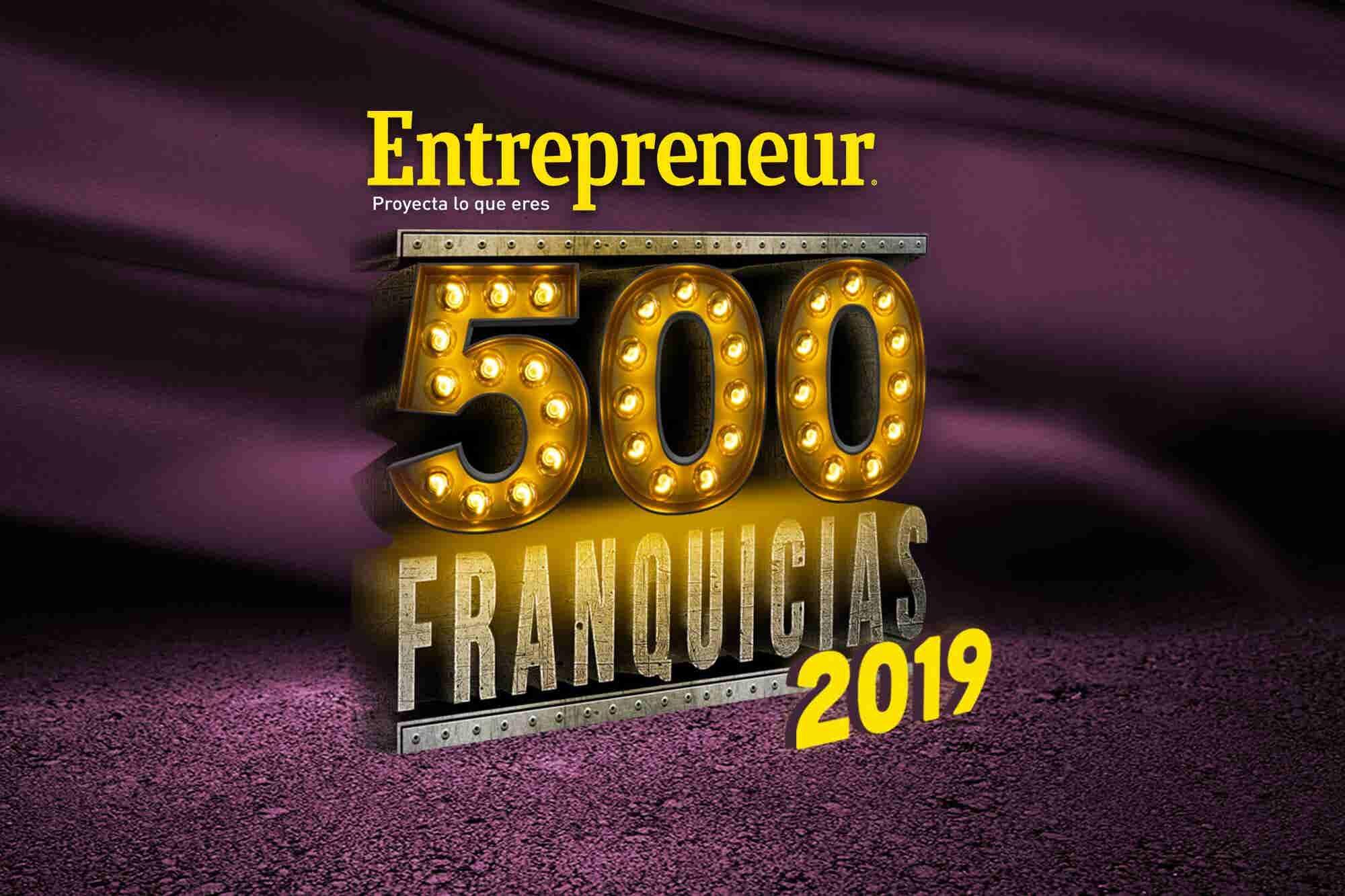 ¡Participa en el Directorio 500 Franquicias 2019 y aparece en la revista Entrepreneur!