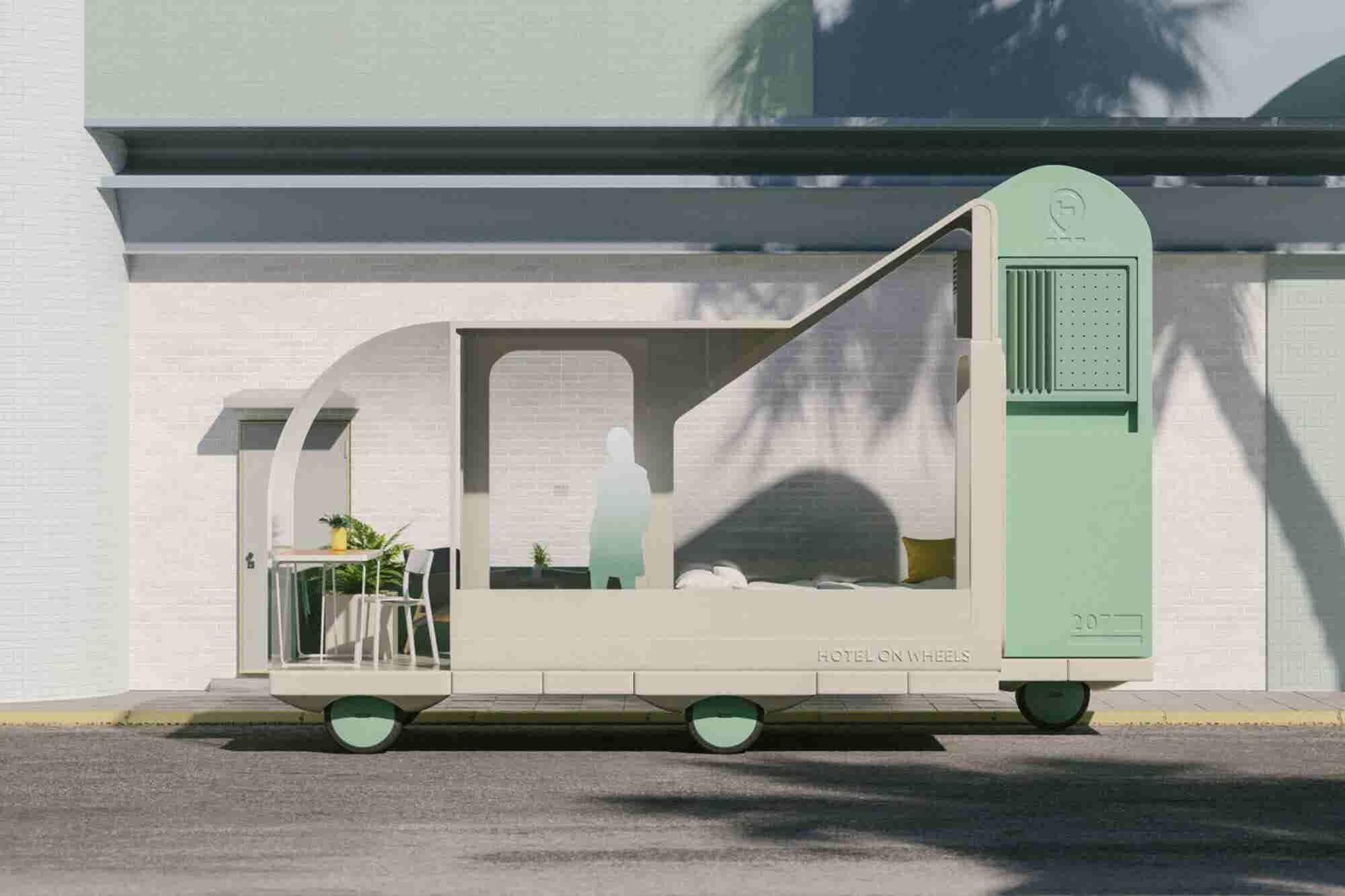 IKEA planea 7 autos autónomos que servirán como hoteles o tiendas ambulantes