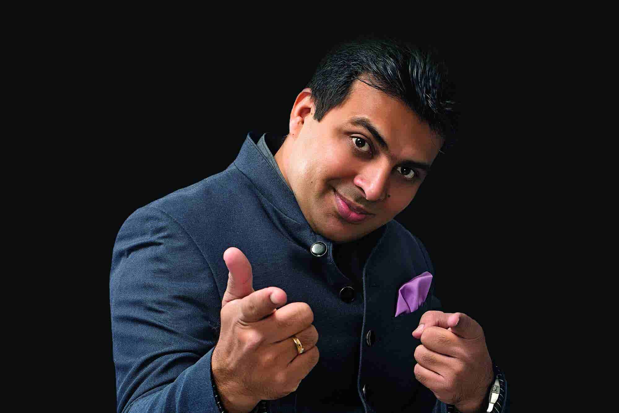 How Amit Tandon Turned Comedy Into Serious Business