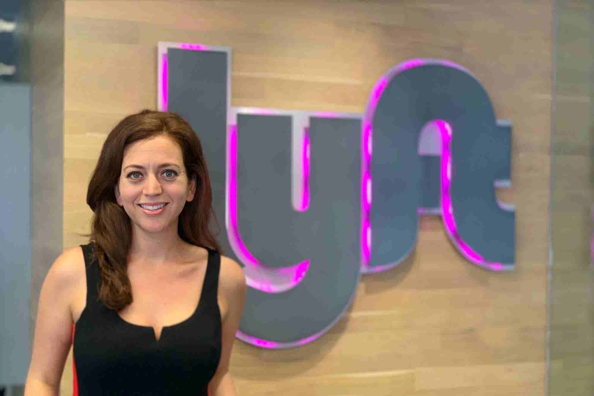 This Lyft Employee's Entrepreneurial Past Inspired Her to Create a Bus...