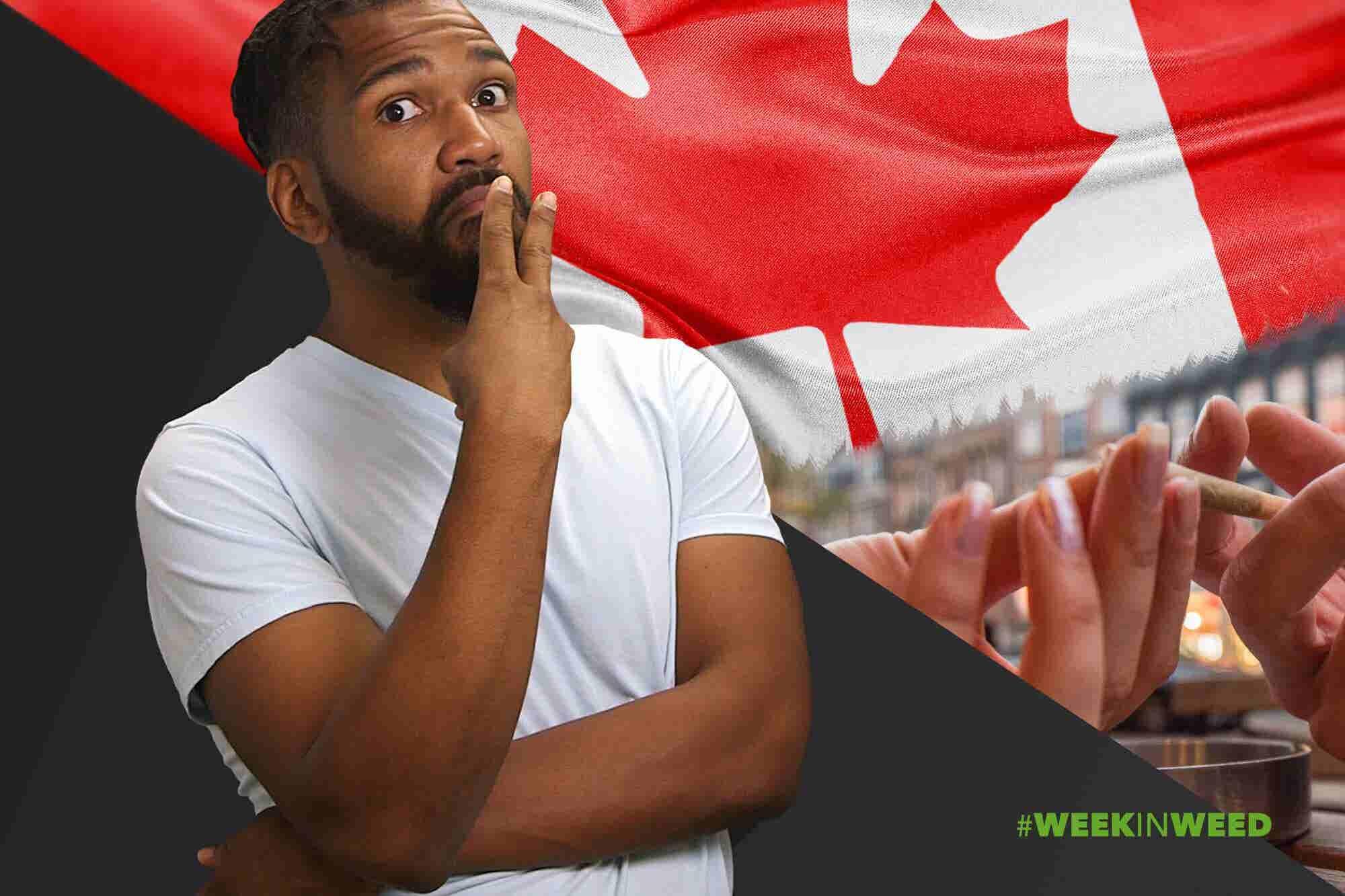 This Week in Weed: Canada 'Okays' Public Smoking!