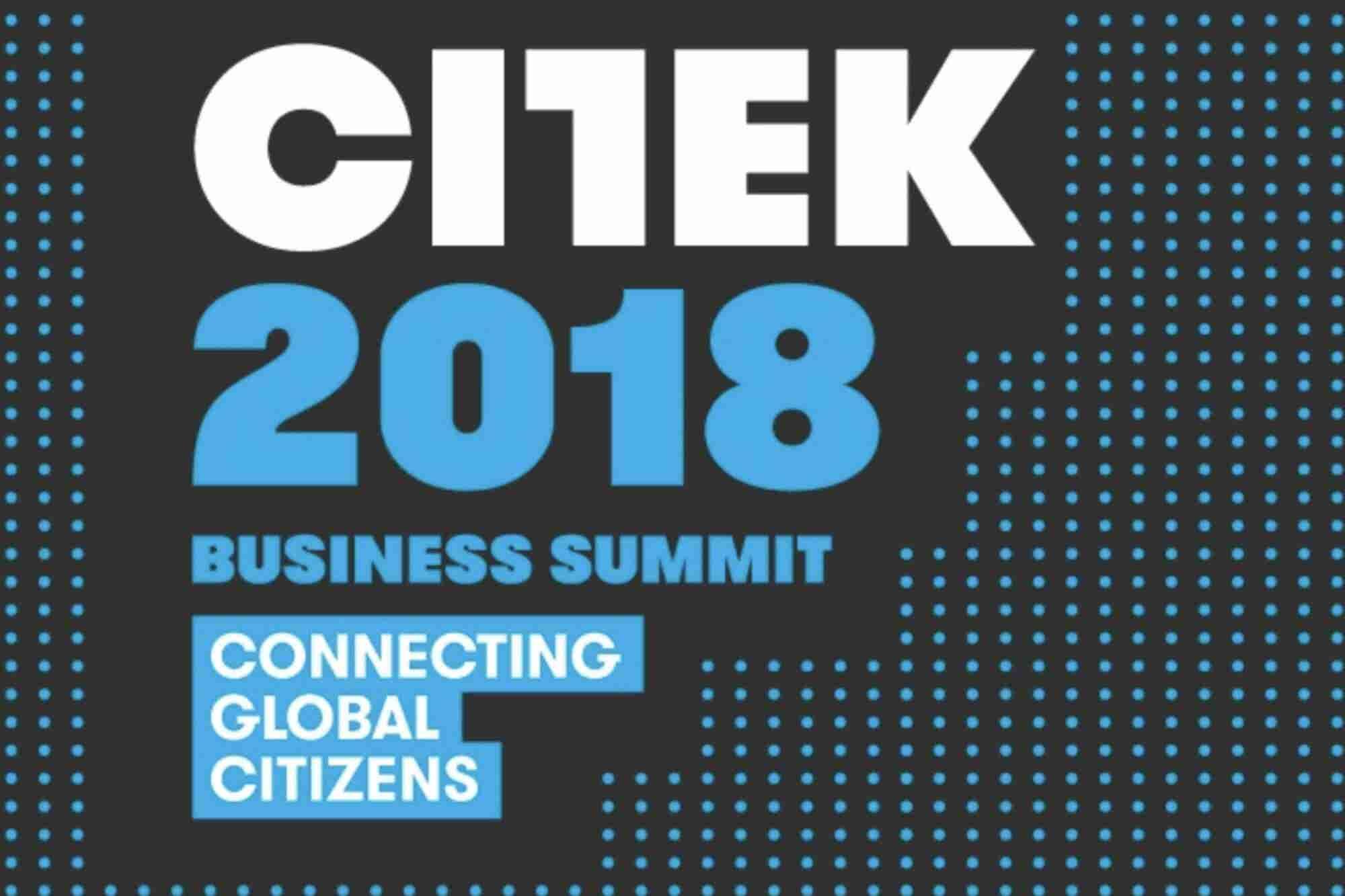 ¿Quieres ser un líder que transforme al mundo? CITEK 2018 es el evento para ti