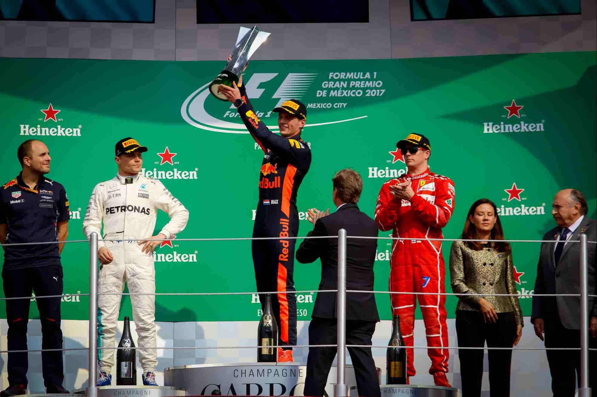 Los pilotos de la F1 en la mejor sede: la CDMX