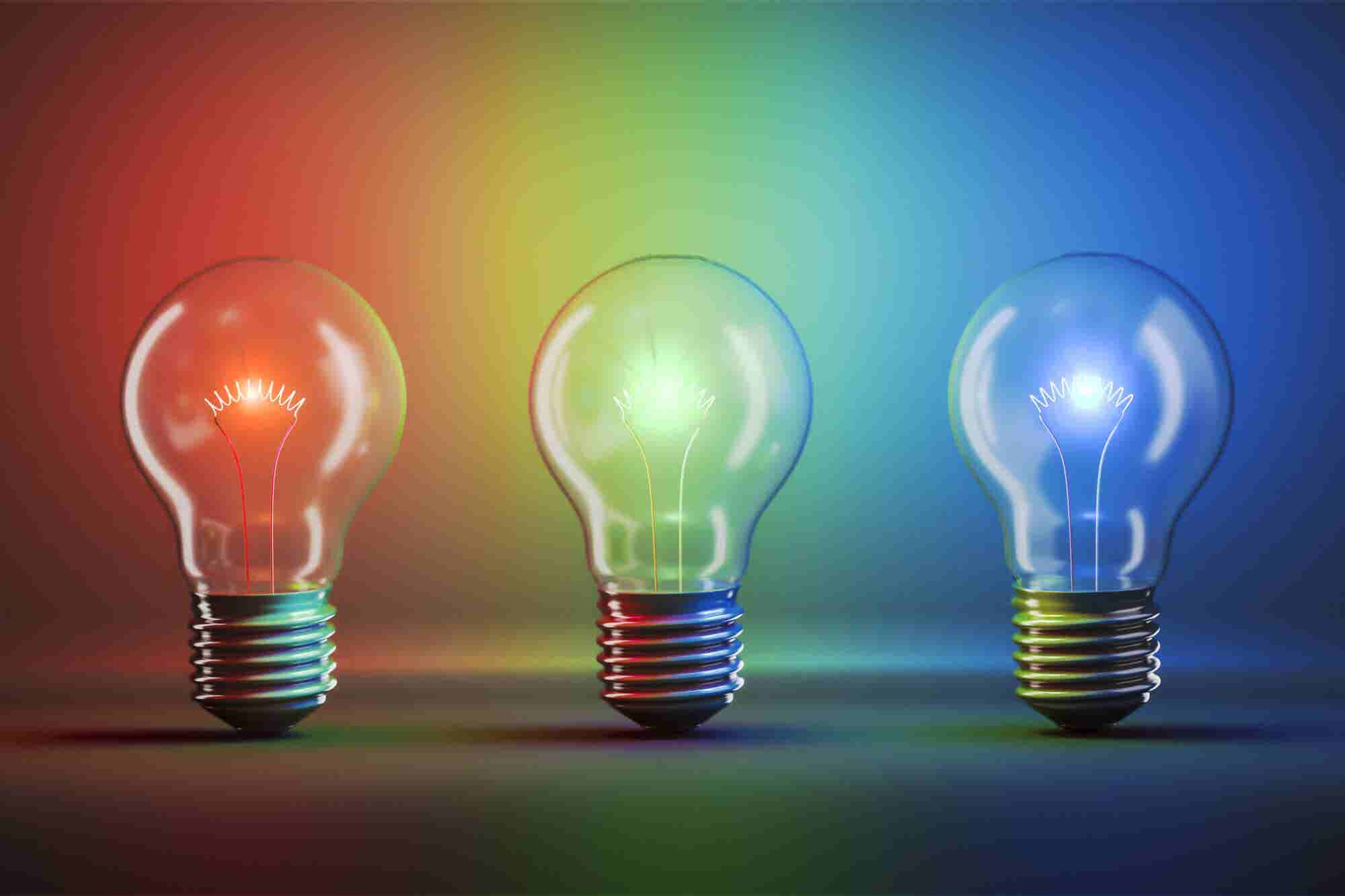 How Entrepreneurs Can Use Colored Lights to Stay Productive