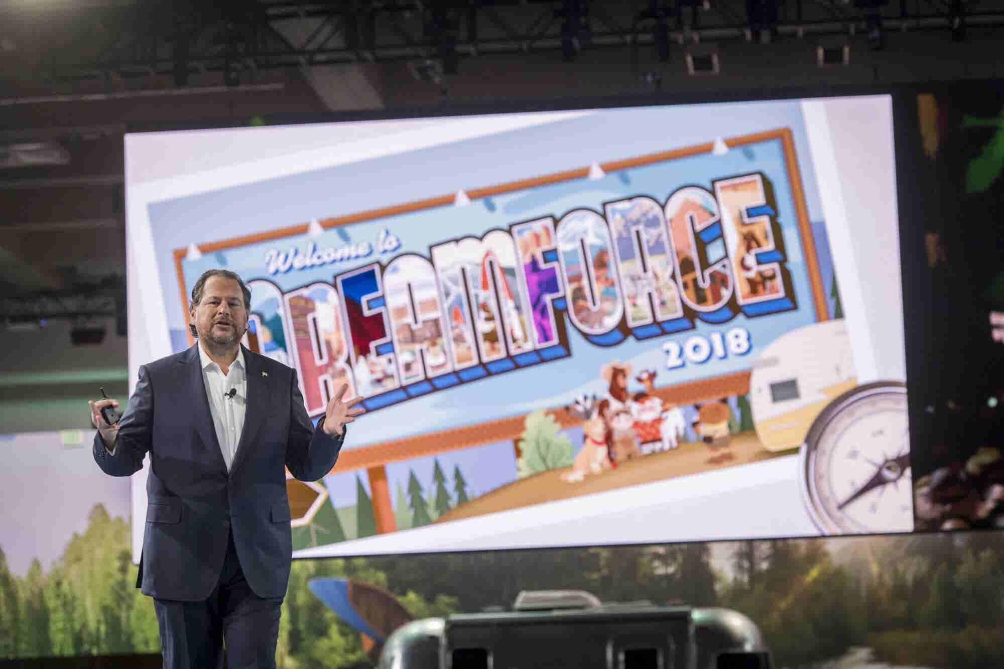 Dreamforce 2018: Connectivity, Sustainability, Values