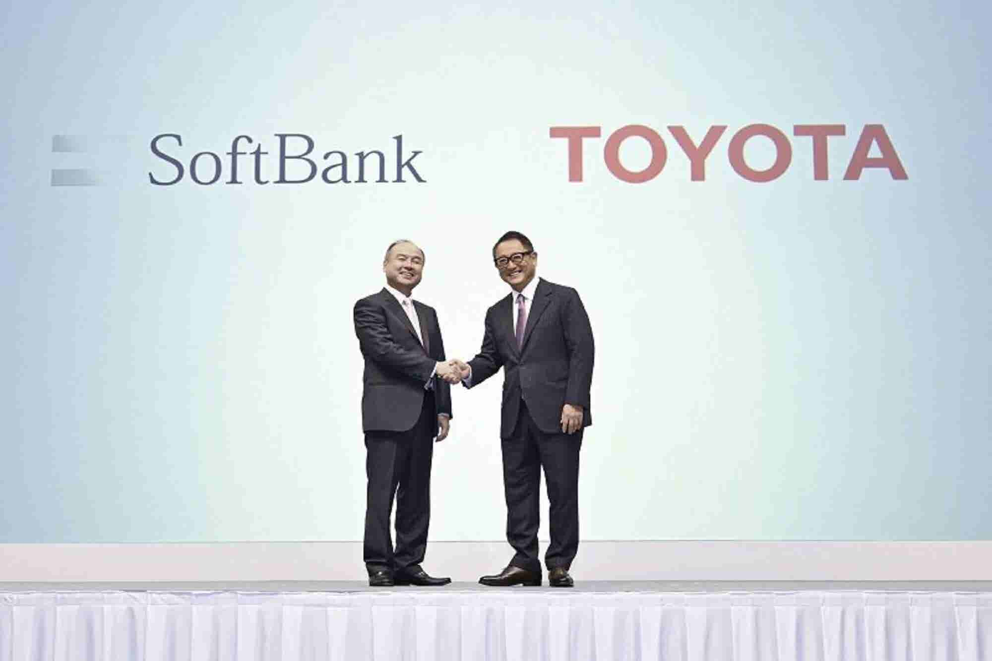 Toyota, SoftBank Partner to Drive Safer Mobility For Everyone
