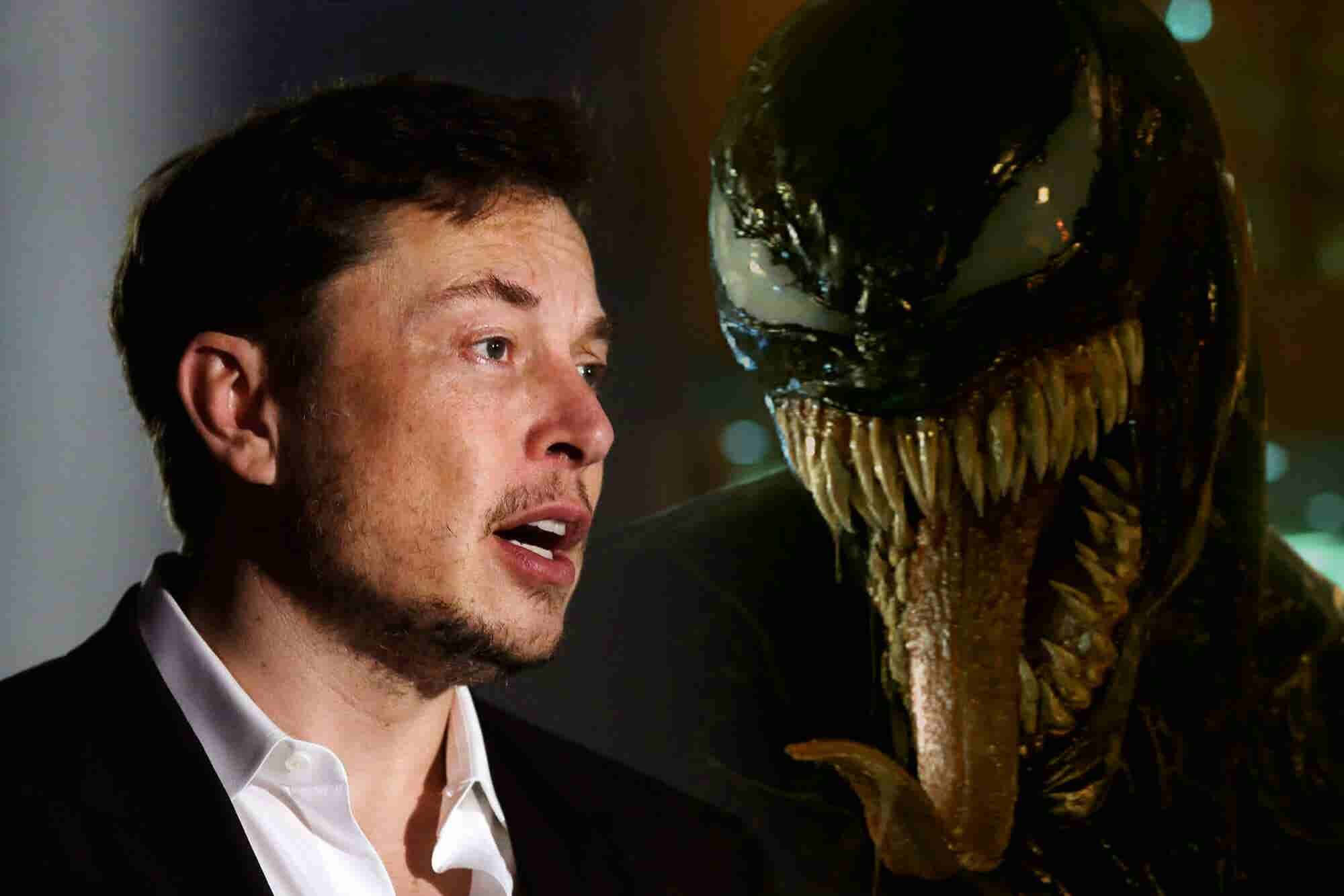 Elon Musk Is Basically the Villain of the 'Venom' Movie