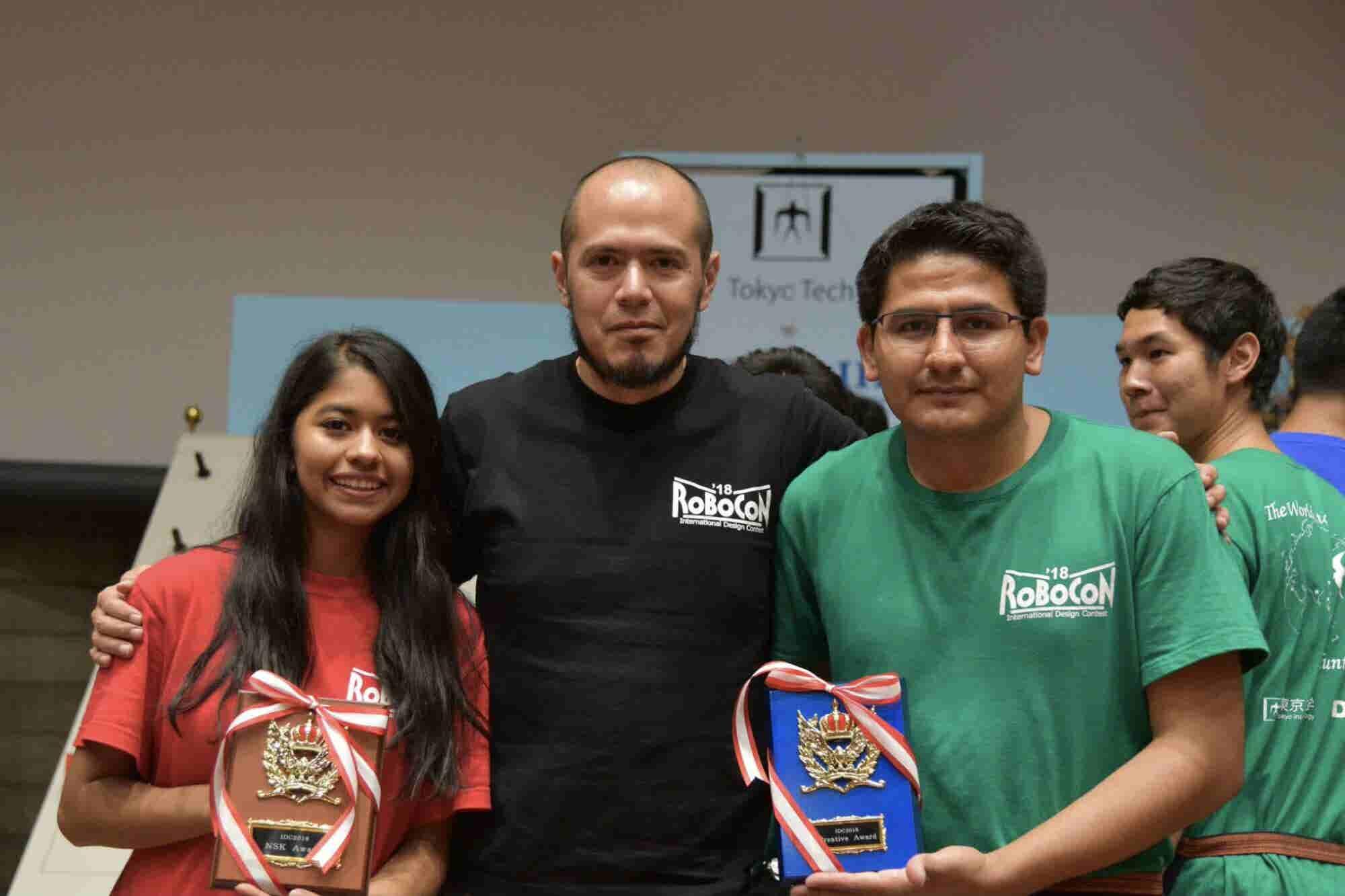 Orgullo mexicano: Alumnos del IPN se llevan el primer lugar del concur...