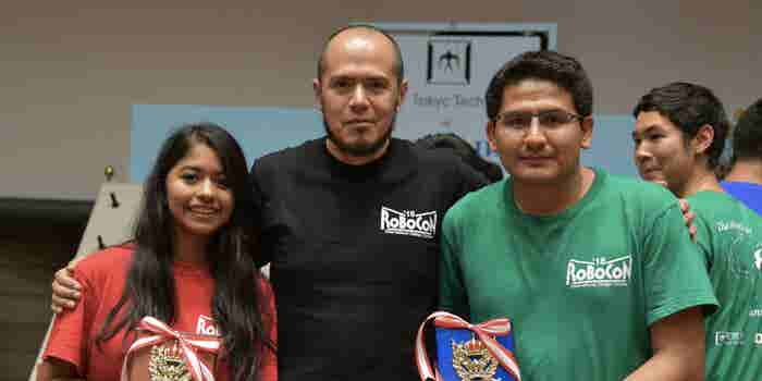 Orgullo mexicano: Alumnos del IPN se llevan el primer lugar del concurso internacional Robocon 2018