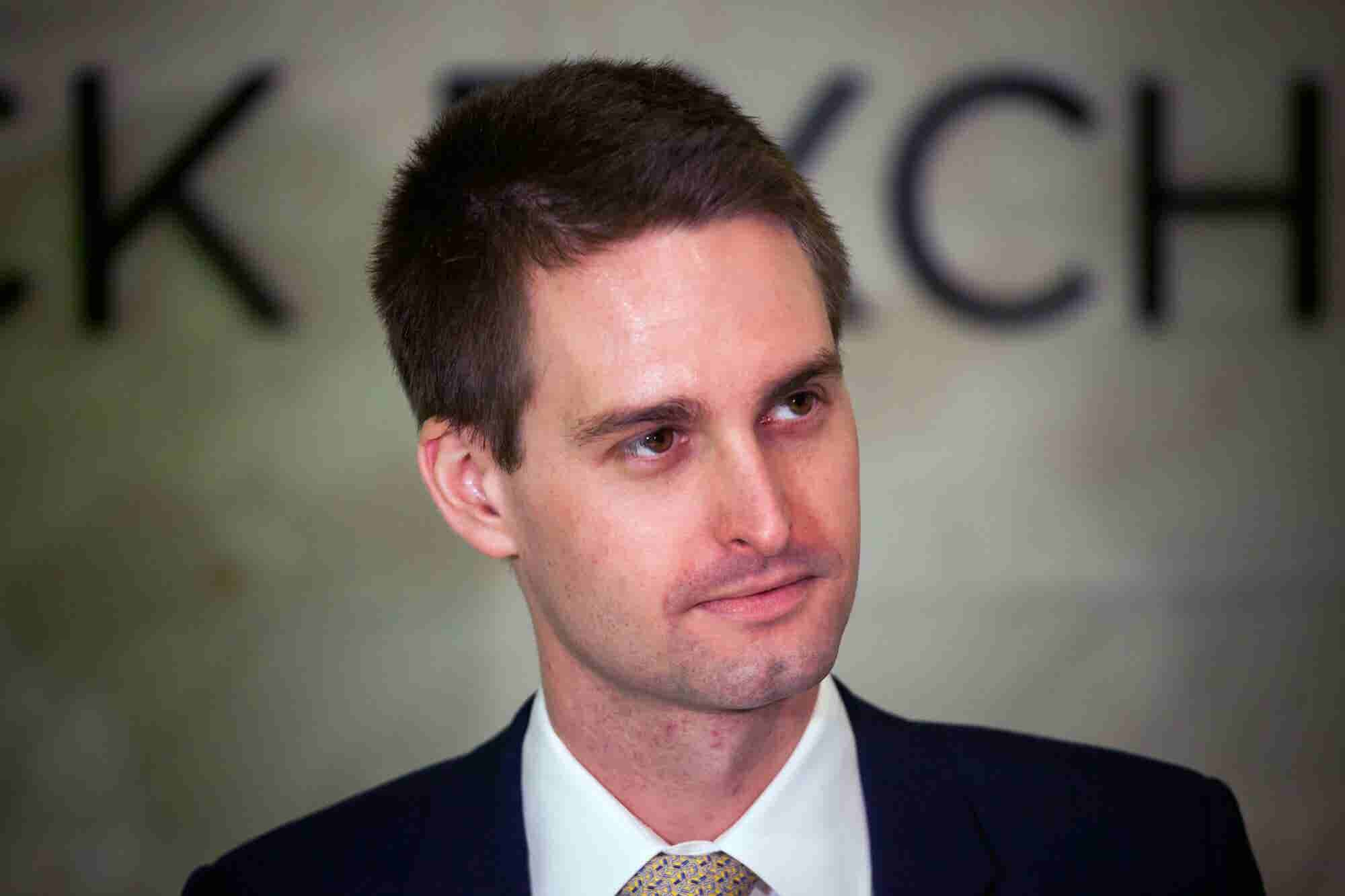 In Leaked Memo to Snap Employees, CEO Evan Spiegel Argues Snap's Competitive Advantage Is That It's Not a Social Media Company