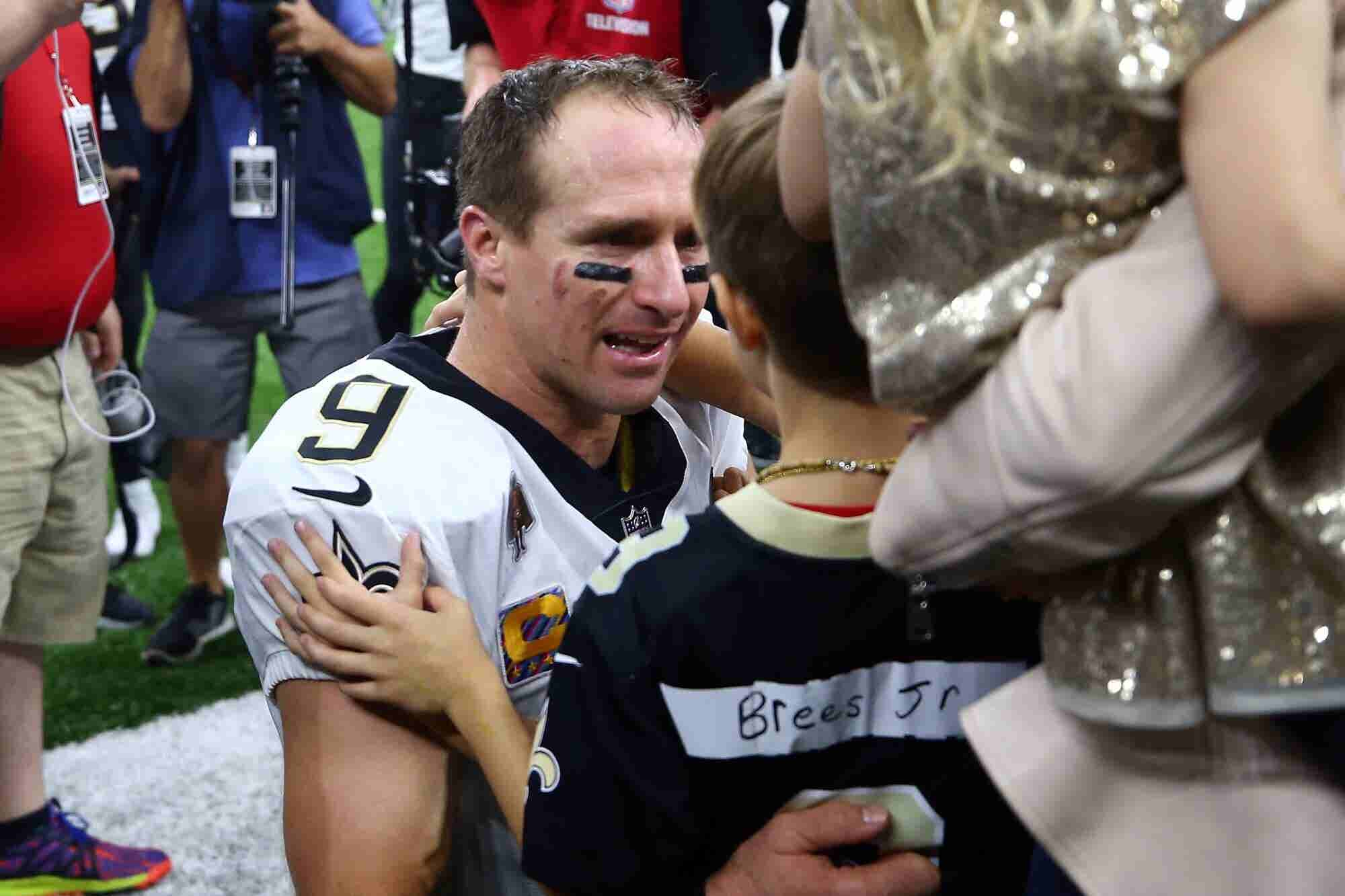 This Drew Brees Video Will Give You Chills Even If You Don't Like Football