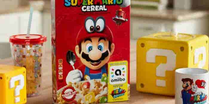 Así es como Super Mario quiere conquistar tu desayuno