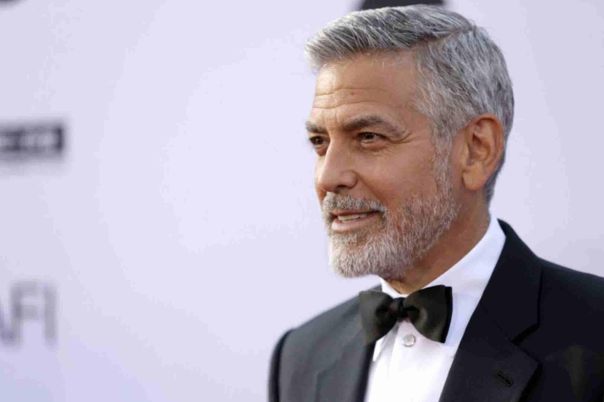 8 frases inspiradoras de George Clooney sobre liderazgo, fracaso y humildad