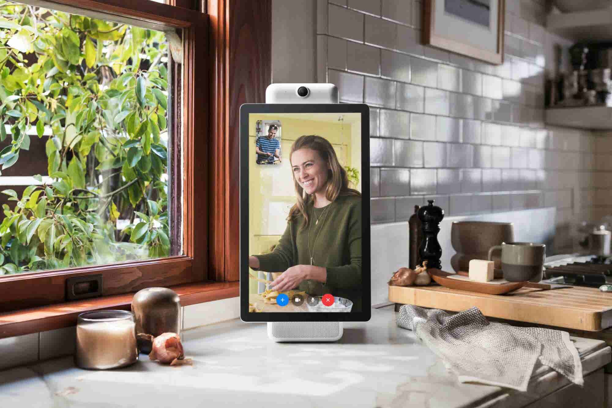 Facebook Launches a Video Chat Device