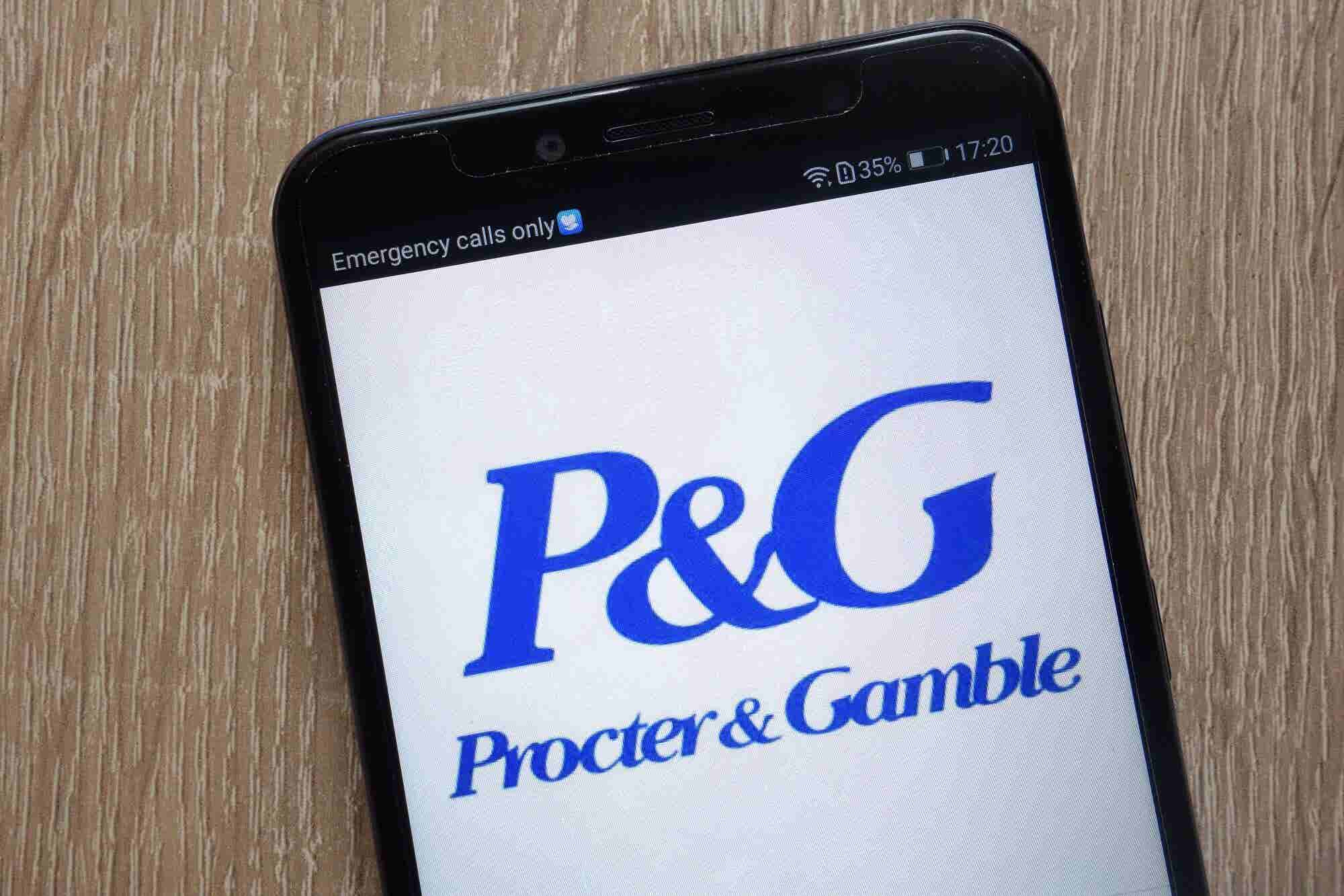 P&G Has Big Plans for Indian Startups