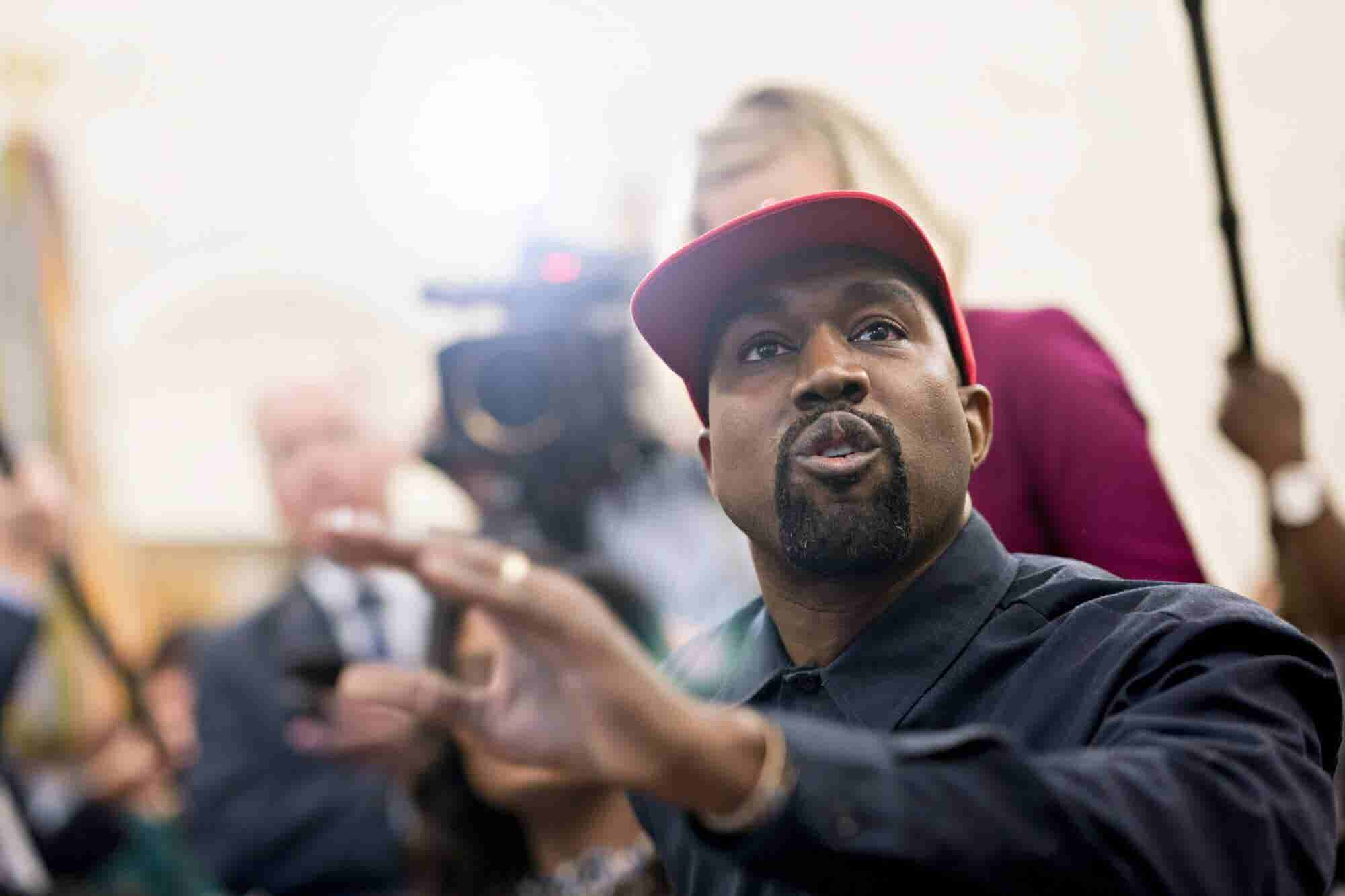 Kanye West Unlocked His Phone With the Cameras Rolling, and His Password Is 000000