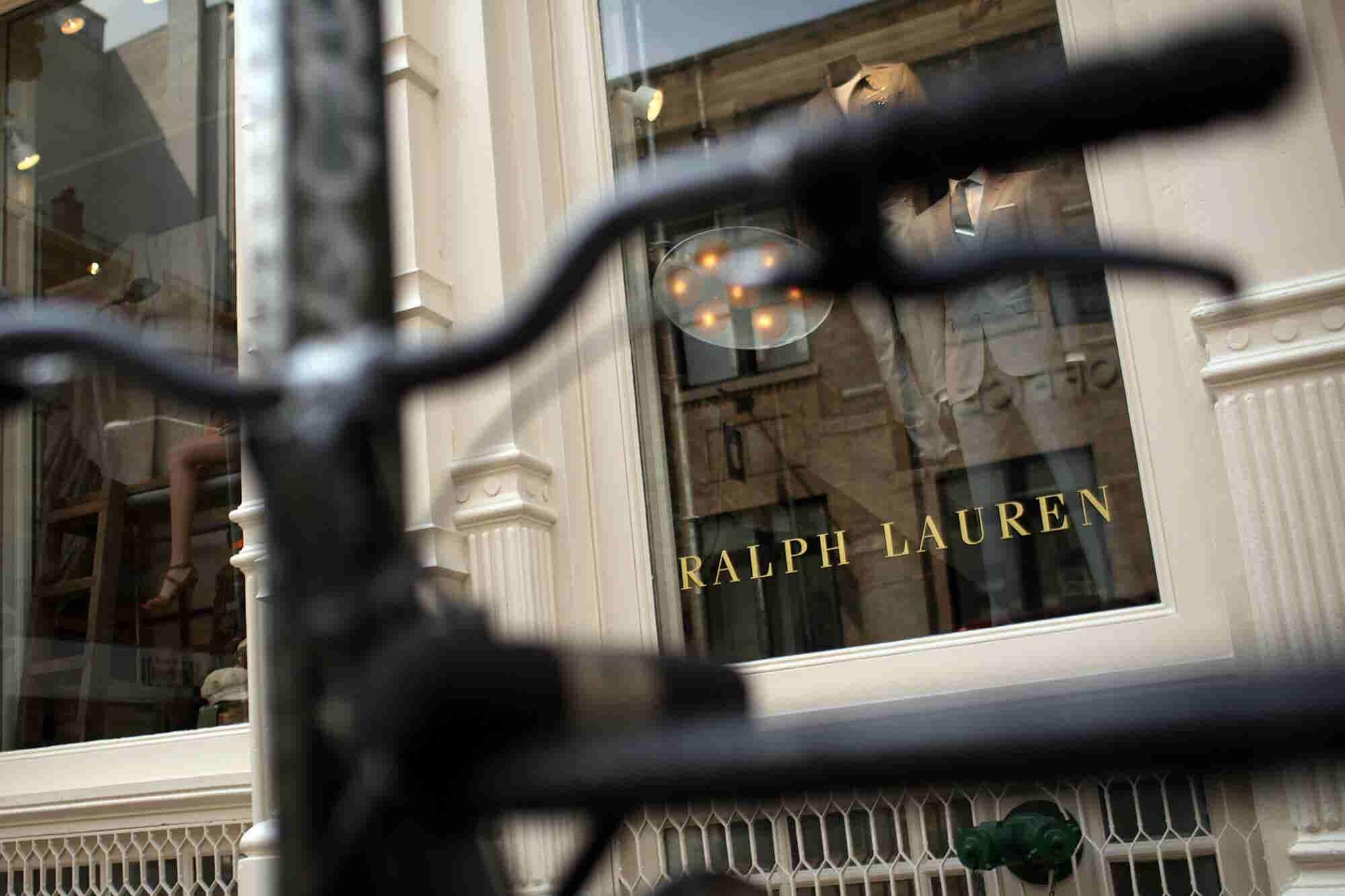 Despite Trade War Uncertainty, Ralph Lauren Is Today's Big Winner on the Entrepreneur Index™