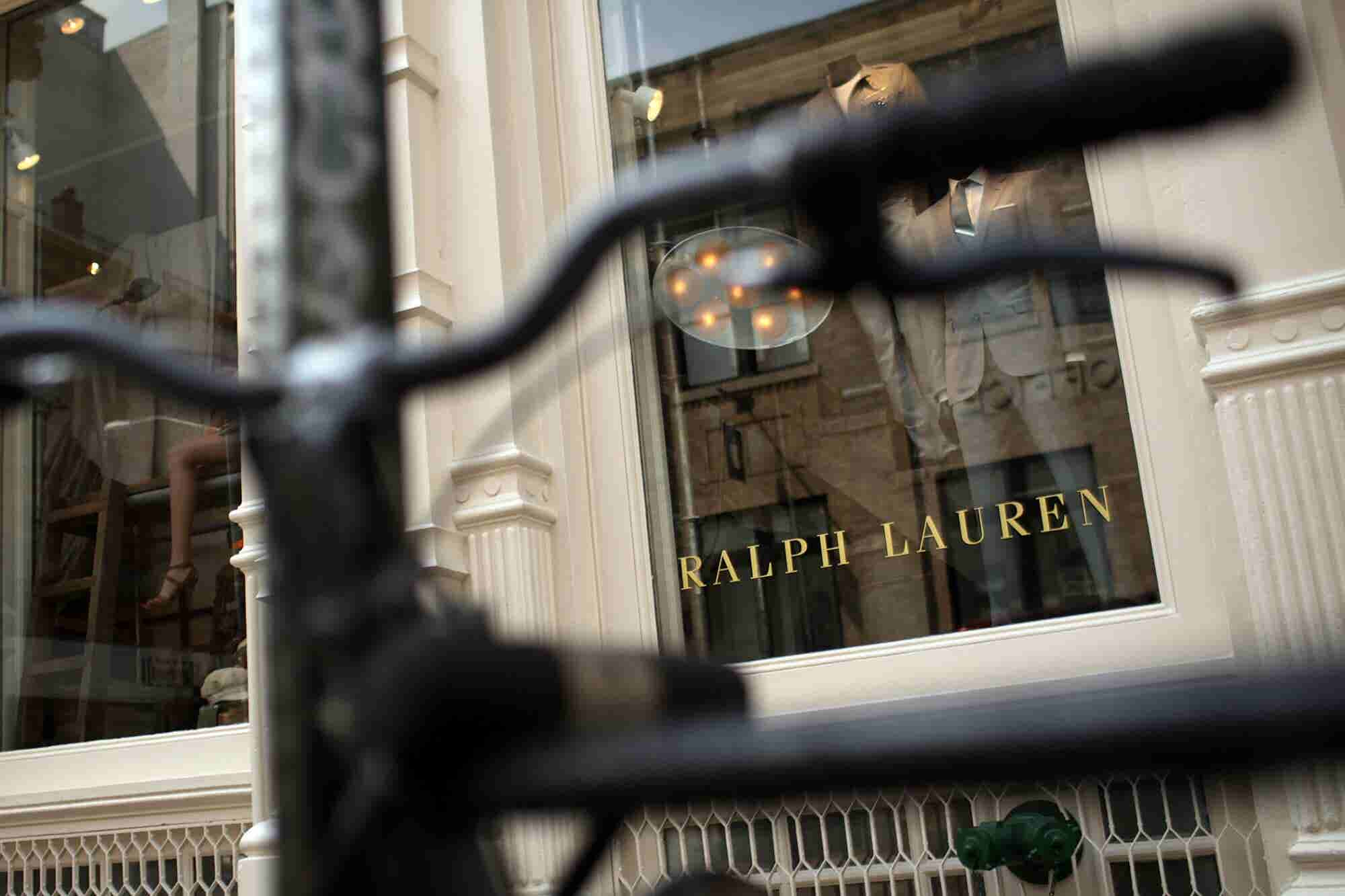 Despite Trade War Uncertainty, Ralph Lauren Is Today's Big Winner on the Entrepreneur Index™