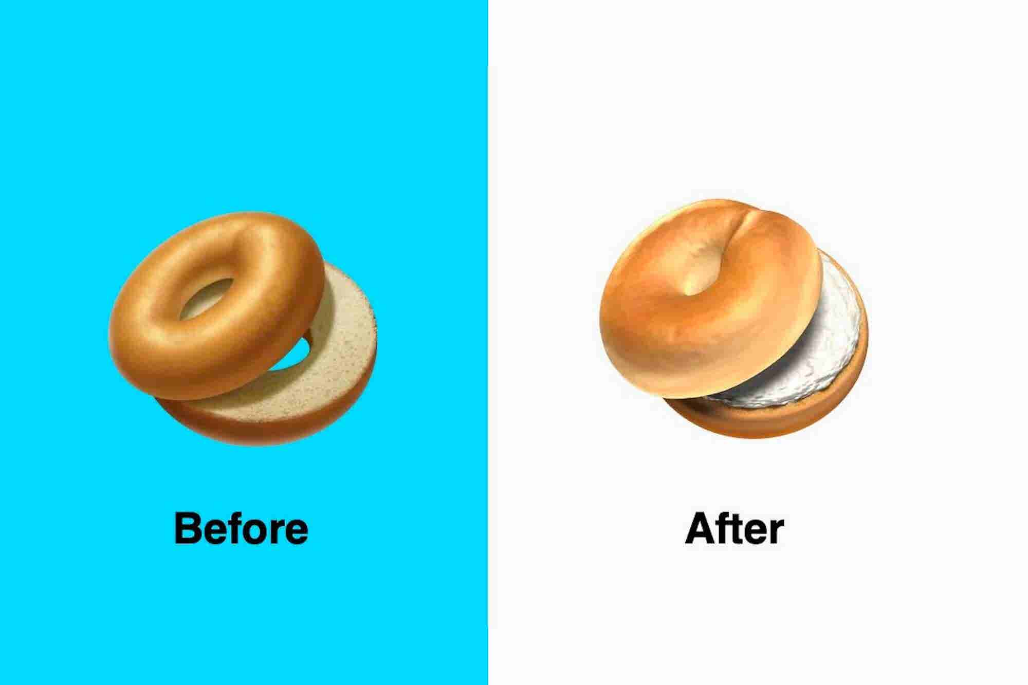Apple Changed Its Bagel Emoji After Outraged New Yorkers Called the Or...