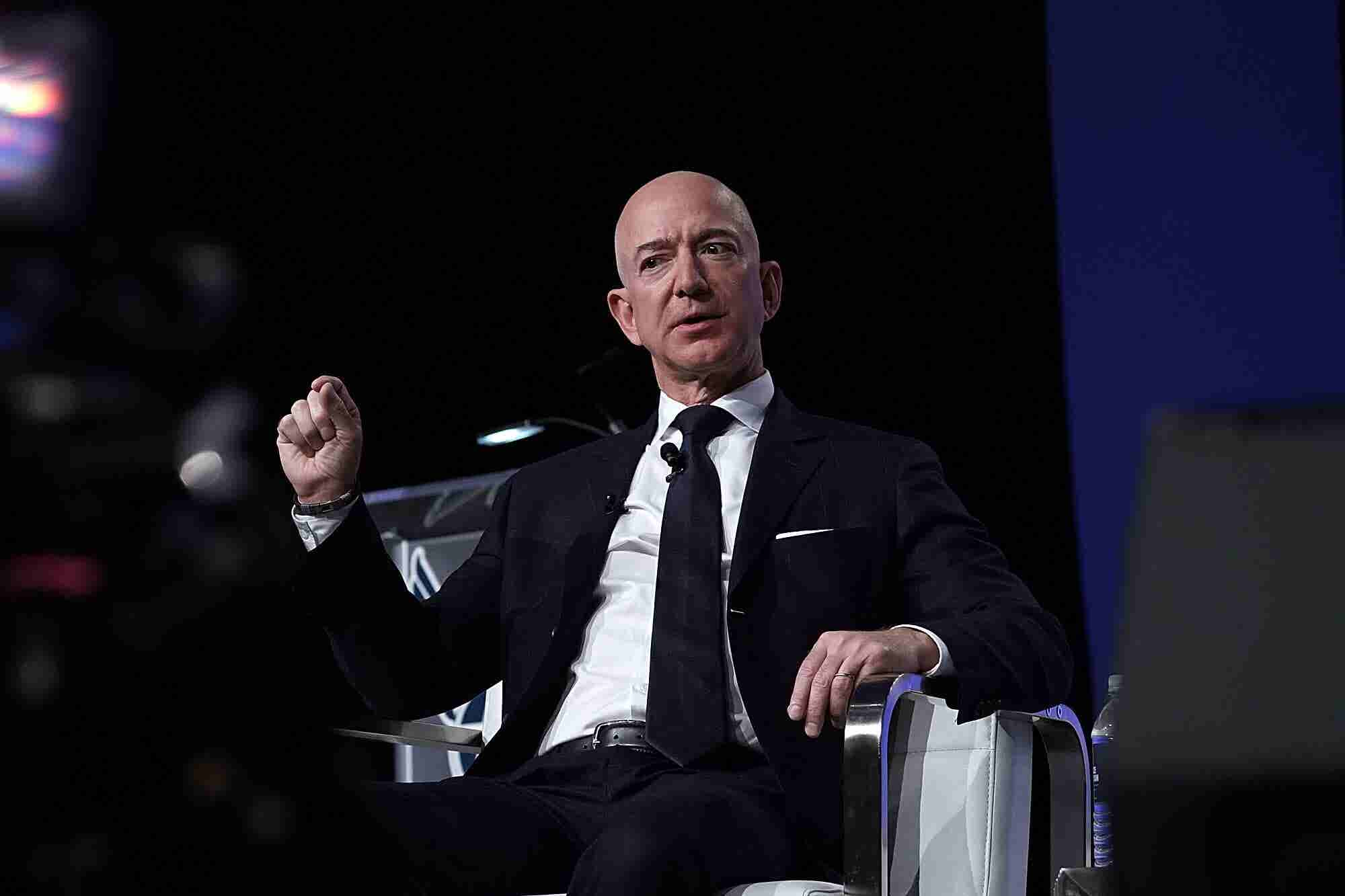 Jeff Bezos Reveals What Inspires Him the Most at Work