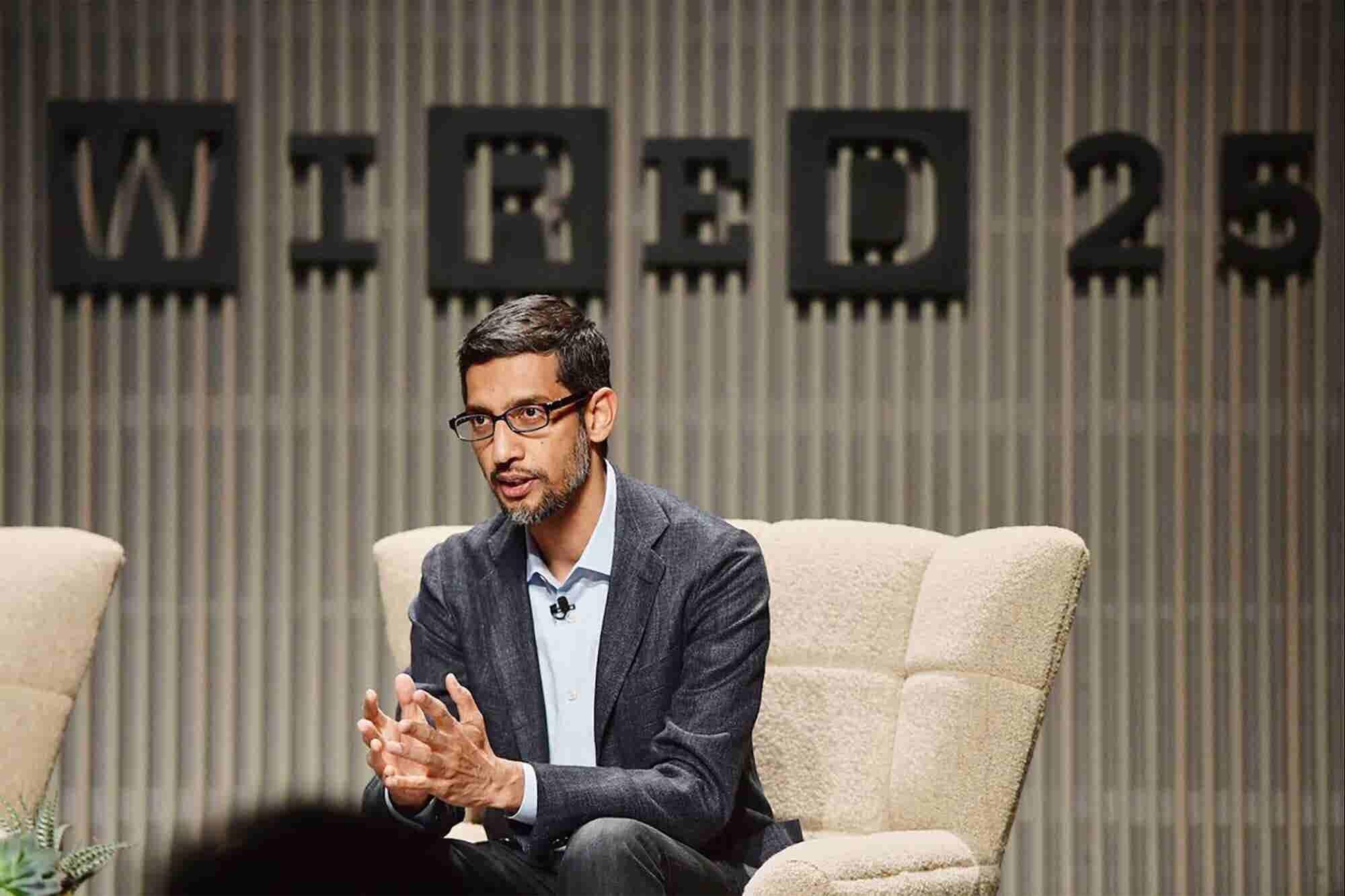 El CEO de Google, Sundar Pichai, confirma que están haciendo un motor de búsqueda censurado para China