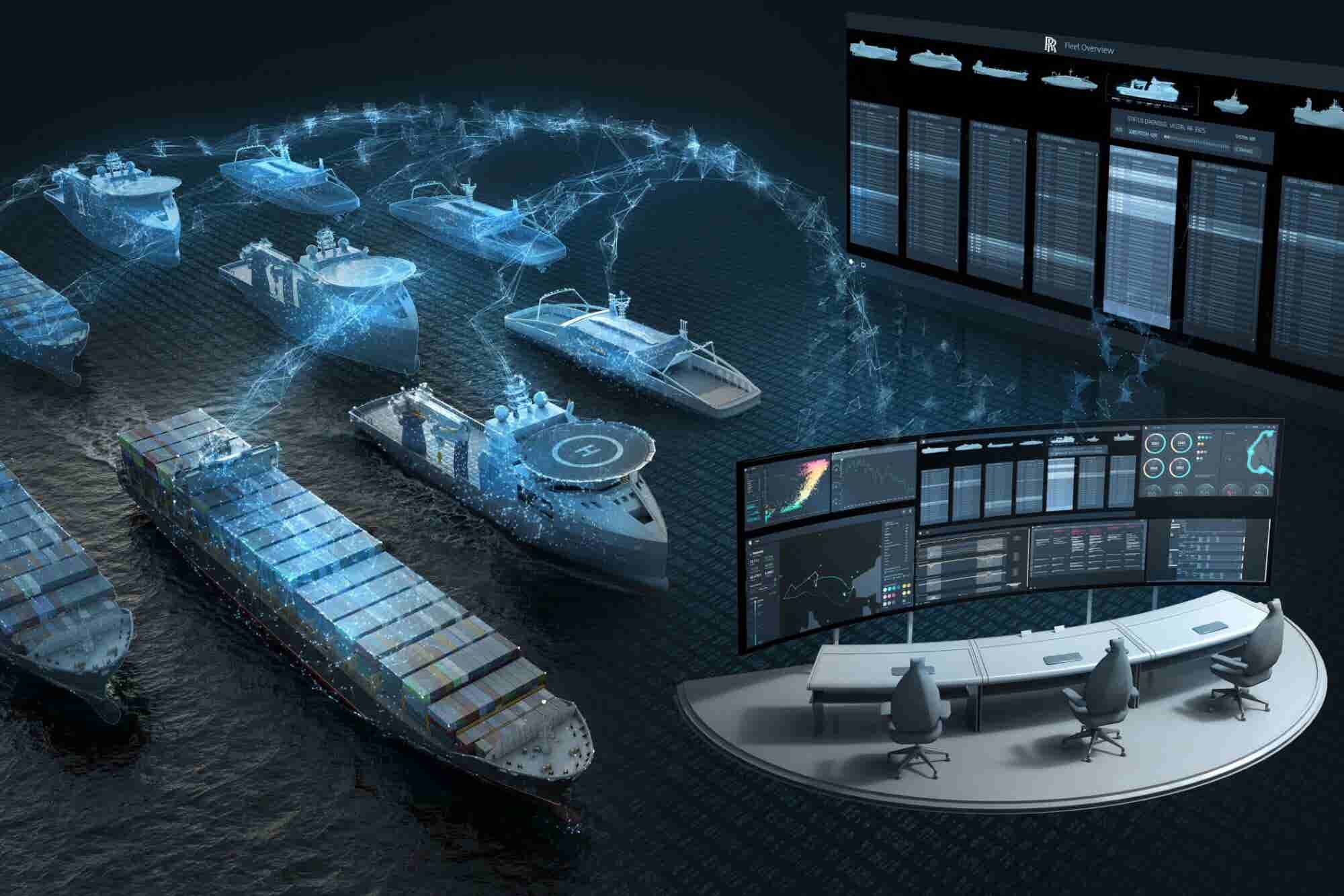 Intel Partners With Rolls-Royce to Develop Self-Sailing Ships
