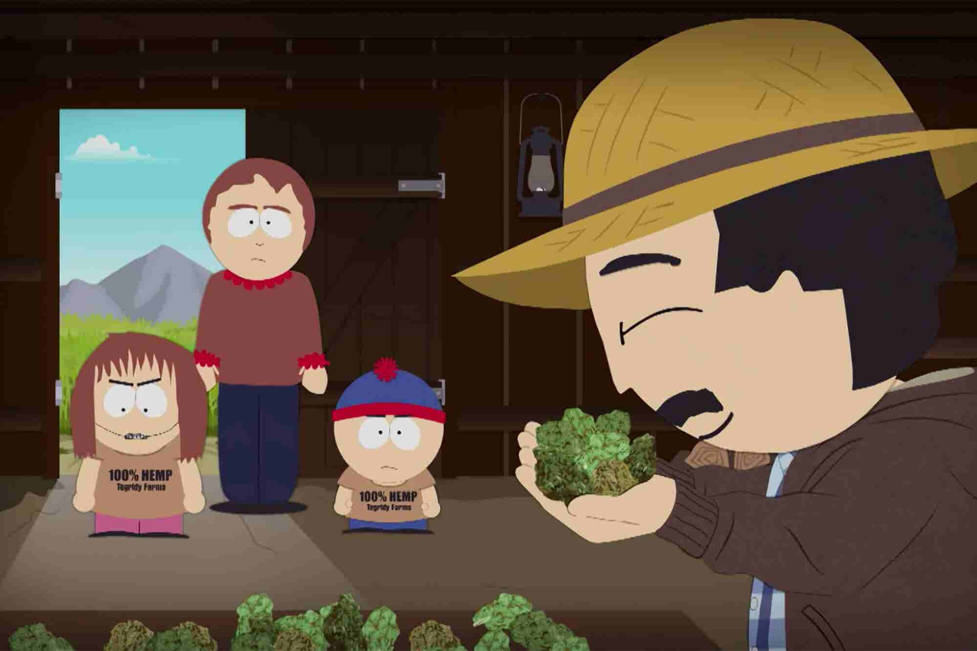 South Park Joins the Green Rush