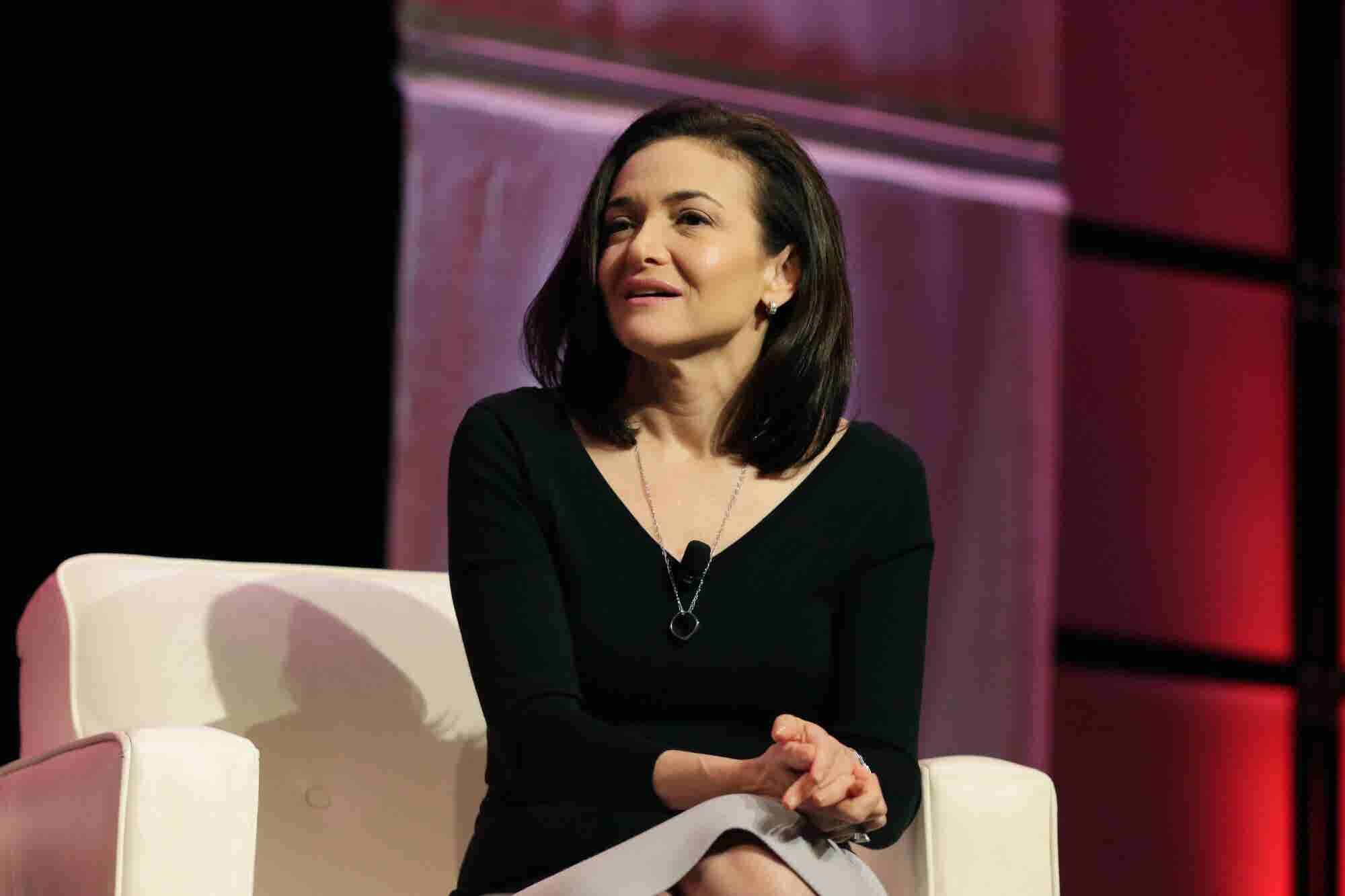Women Are Still Not Being Offered Management Positions at Equal Rates, But There's Hope, Sheryl Sandberg Says